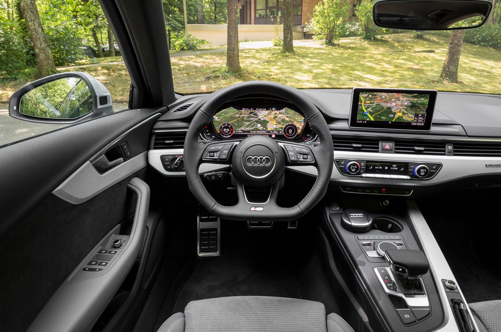 2017 Audi A4 Length