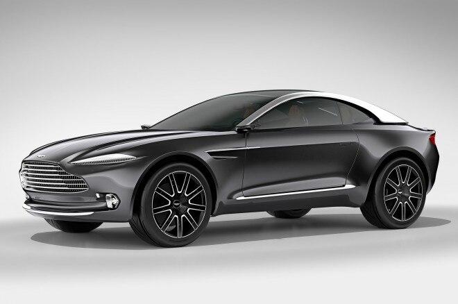 Aston Martin DBX Concept Front Three Quarter Studio 660x438