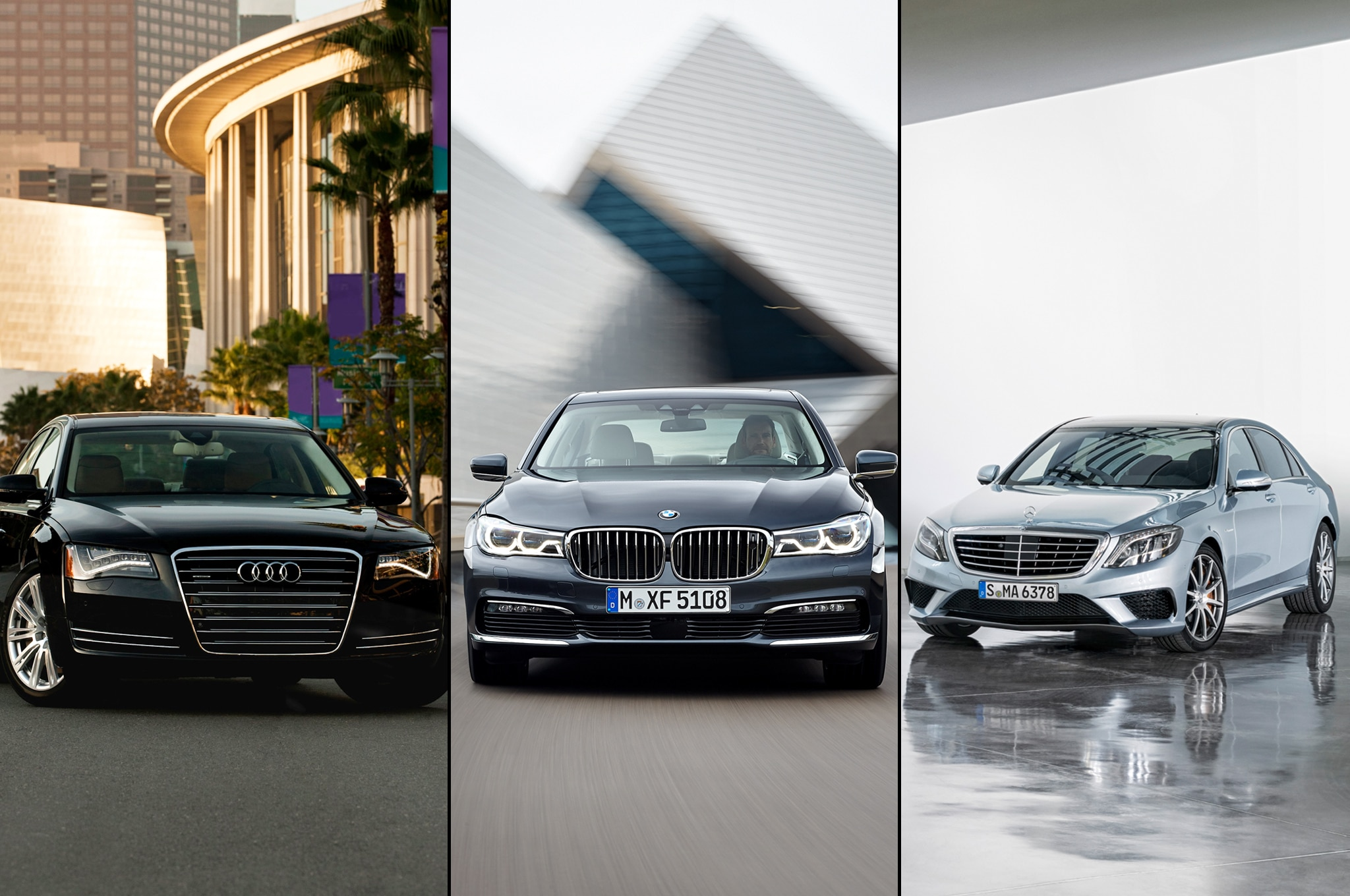 Audi vs bmw vs mercedes benz in the modern era for Bmw and mercedes benz
