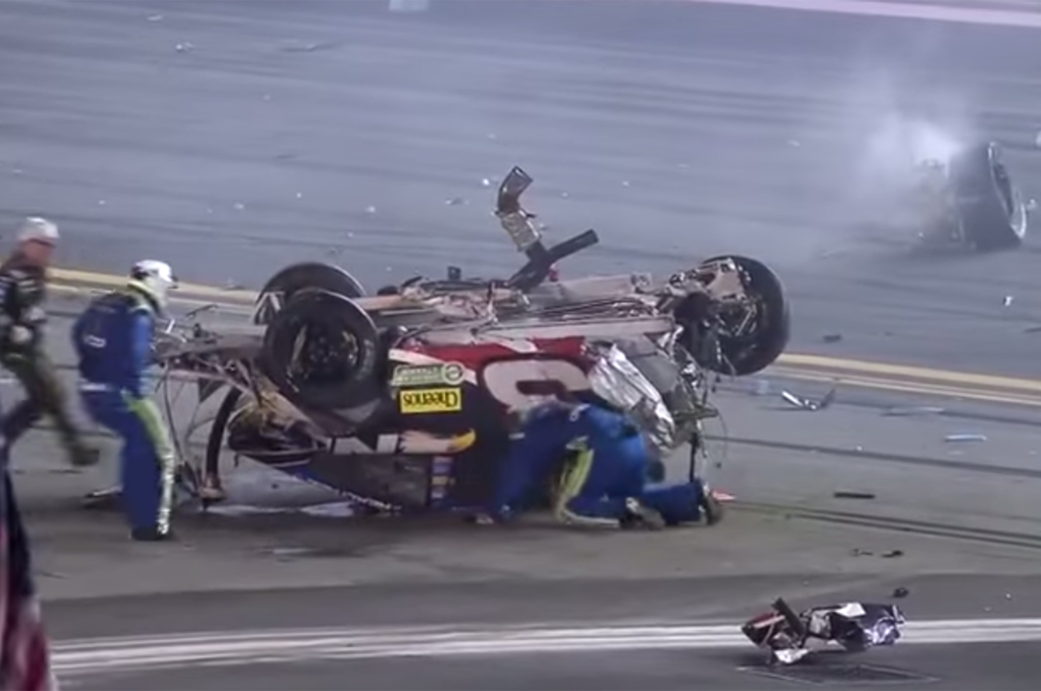 Austin Dillon Crash