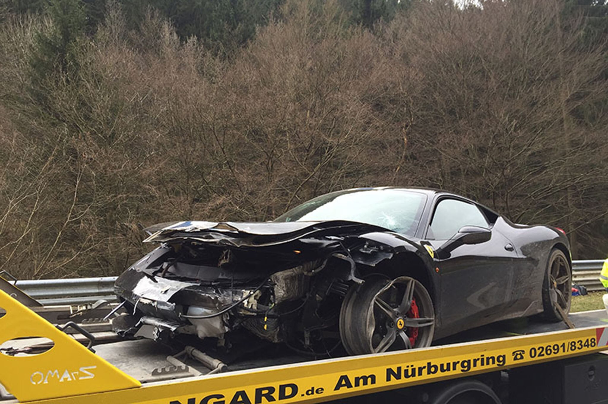 Dead Ferrari 458 Speciale