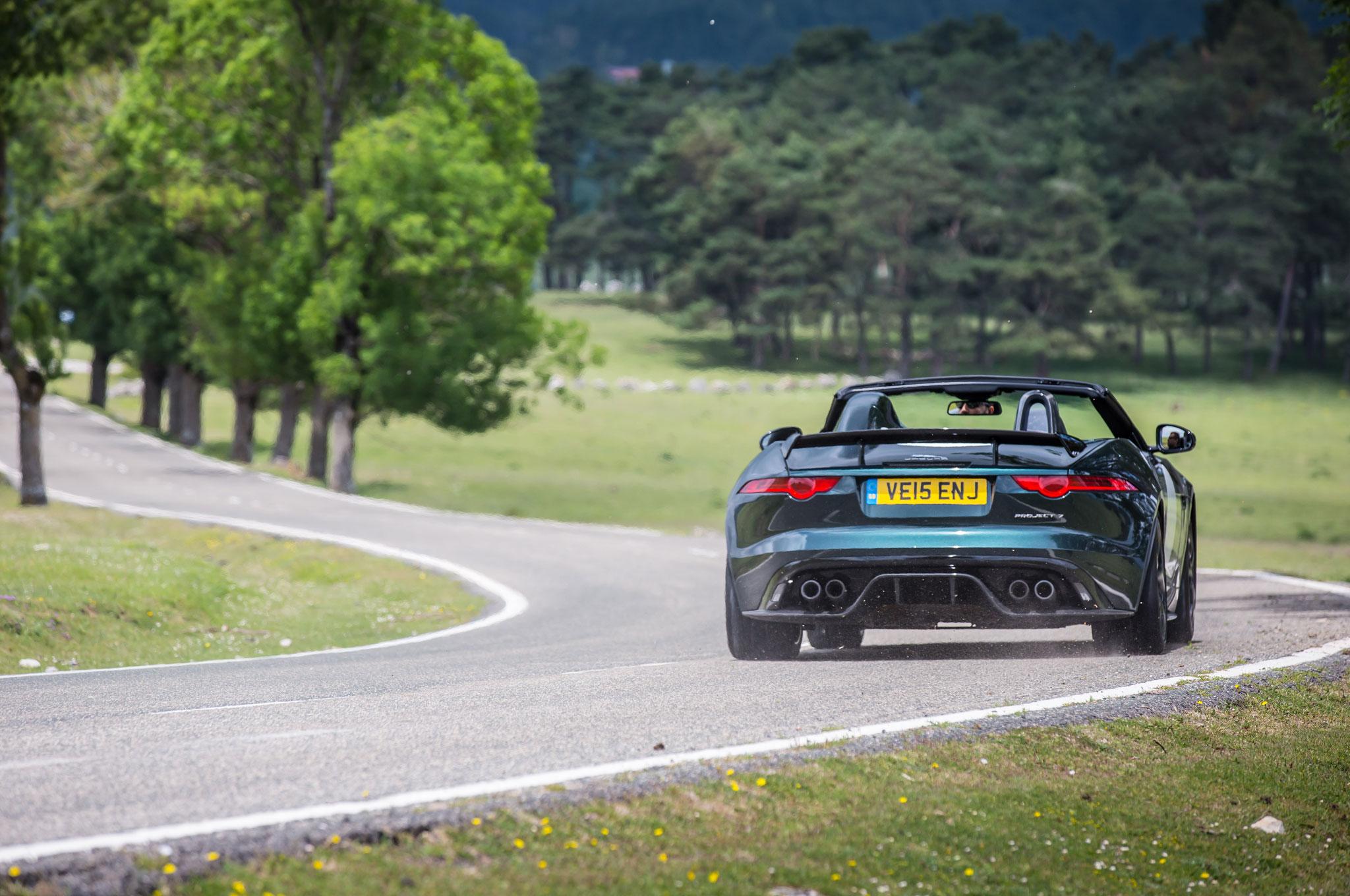 Jaguar F Type Green