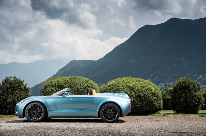 Mini Superleggera Vision Concept side