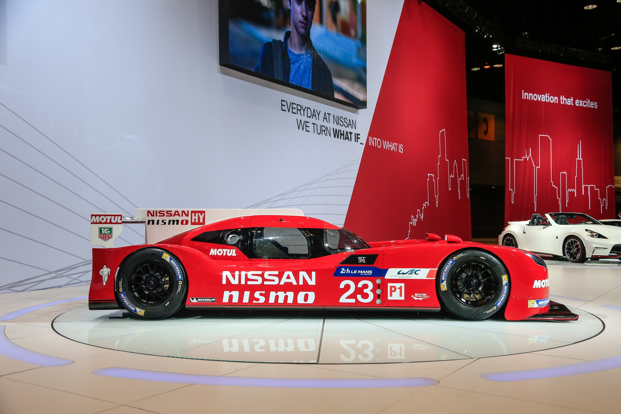 The Nissan GTR LM Nismo Winning by Losing at Le Mans