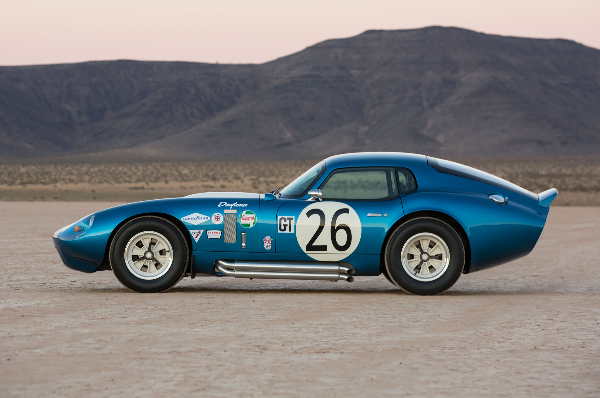 Shelby Cobra Daytona Coupe Anniversary Side View Jpg