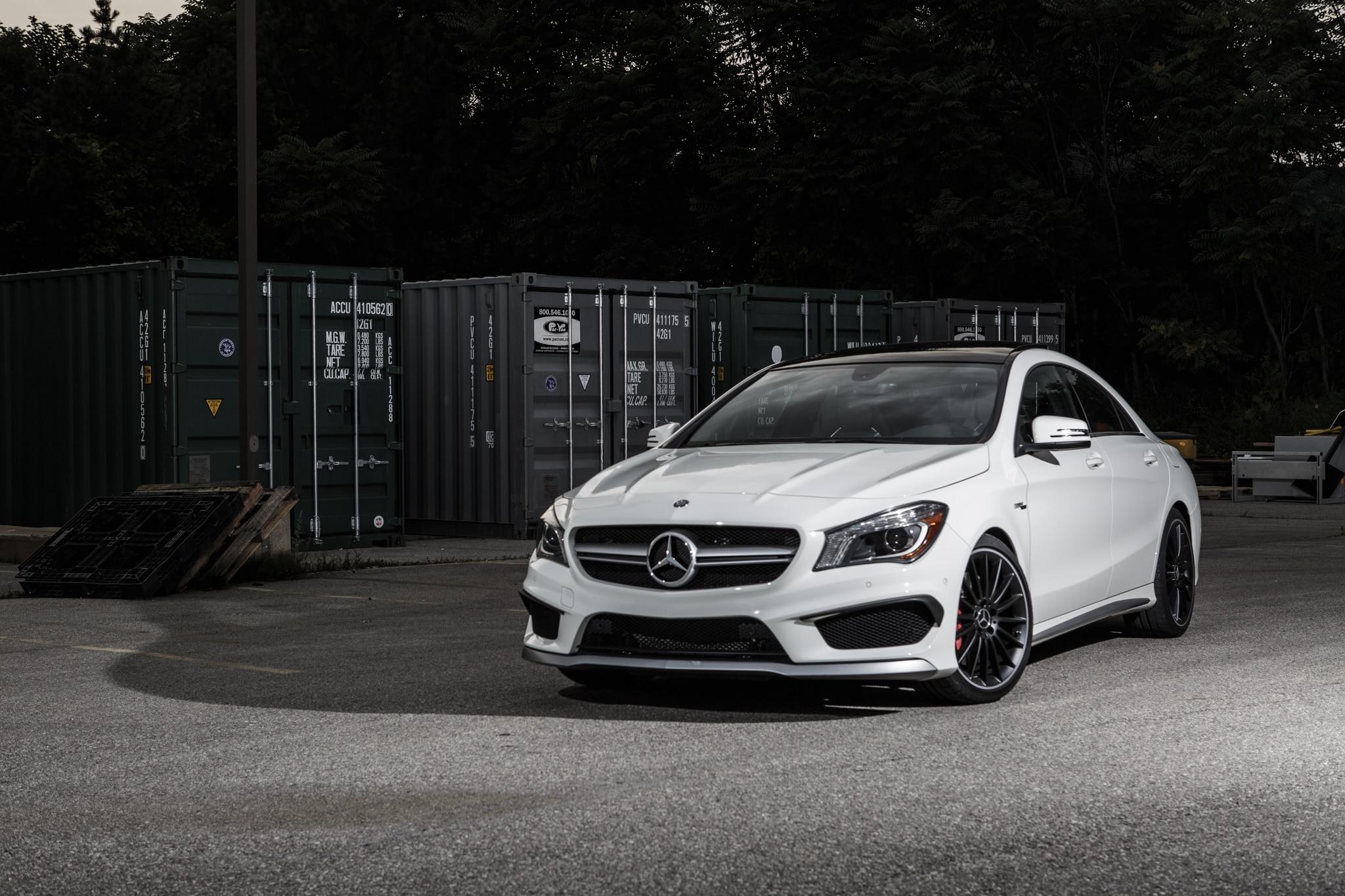 2016 mercedes amg cla45 gla45 gain 20 hp 18 lb ft for Mercedes benz cla45 amg 0 60