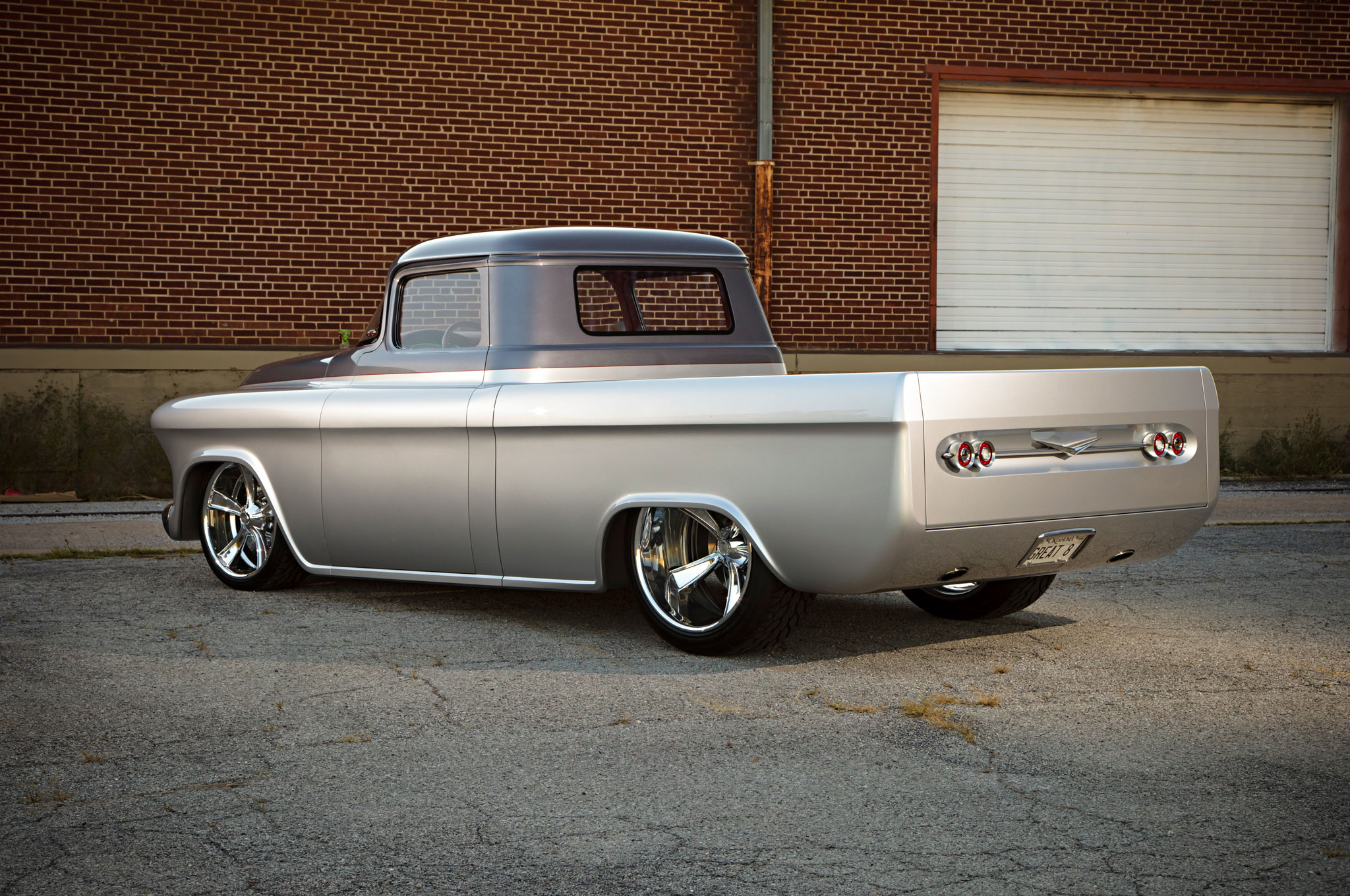 One Of A Kind 1957 Chevrolet Pickup With 650 Hp Heads To