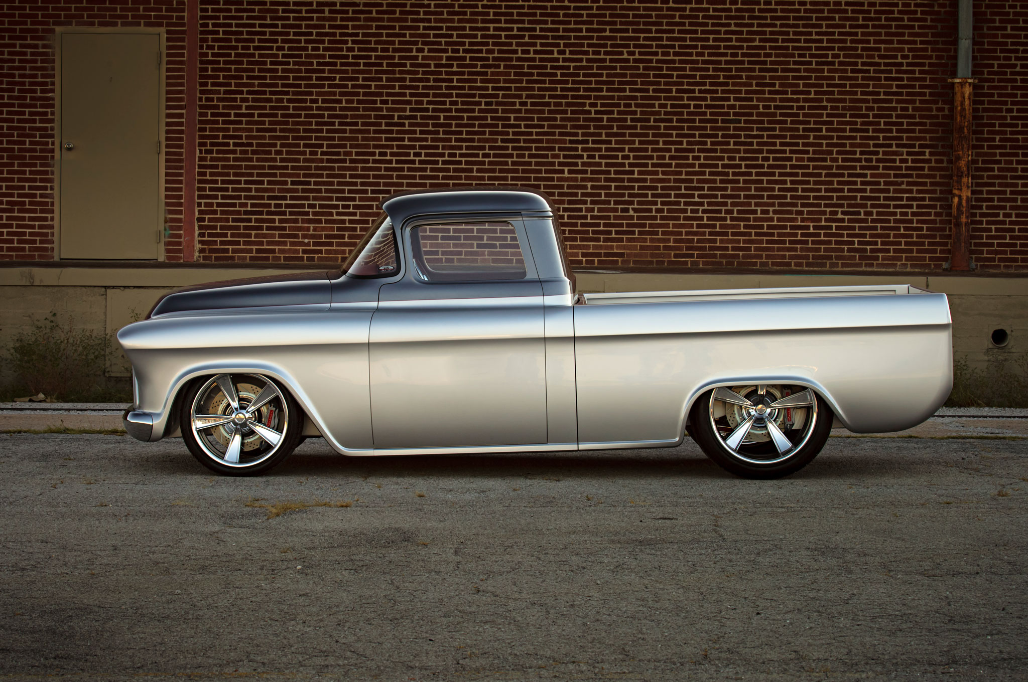 One-of-a-Kind 1957 Chevrolet Pickup with 650 HP Heads to ...