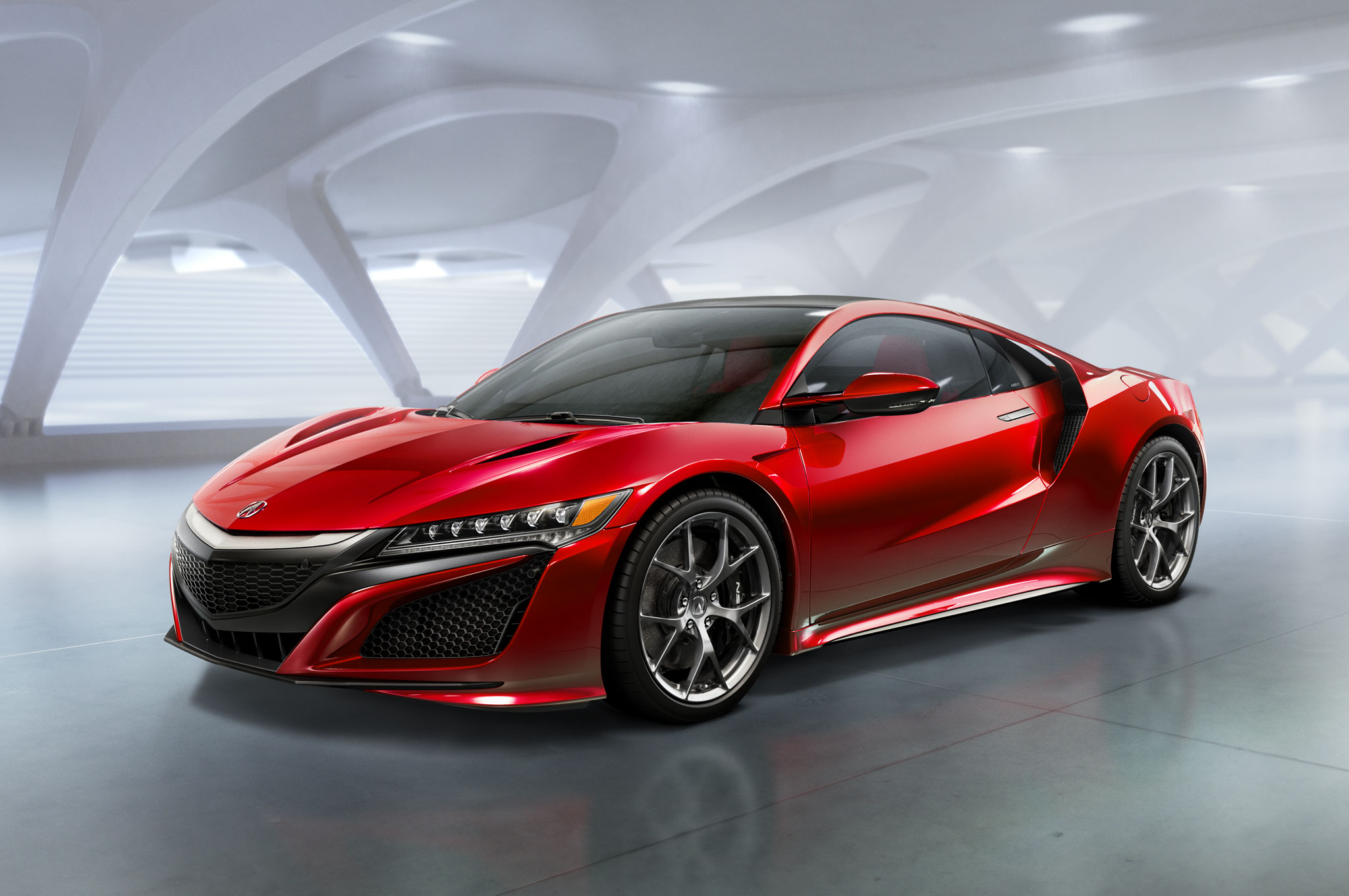 2016 Acura NSX Front Three Quarter2