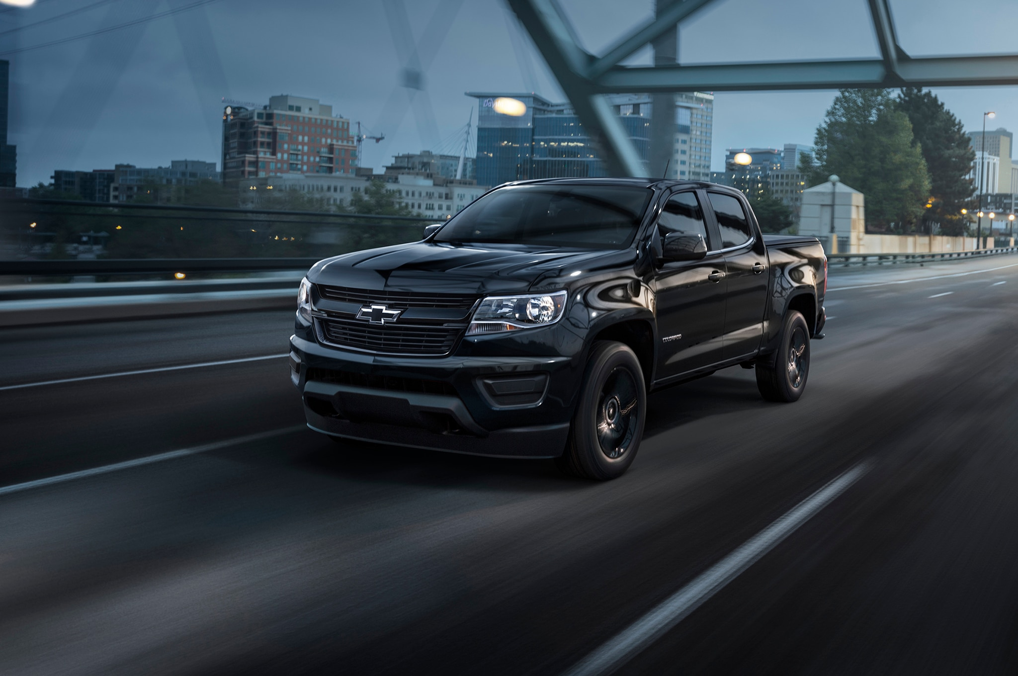 2016 chevrolet colorado adds midnight edition trail boss packages. Black Bedroom Furniture Sets. Home Design Ideas
