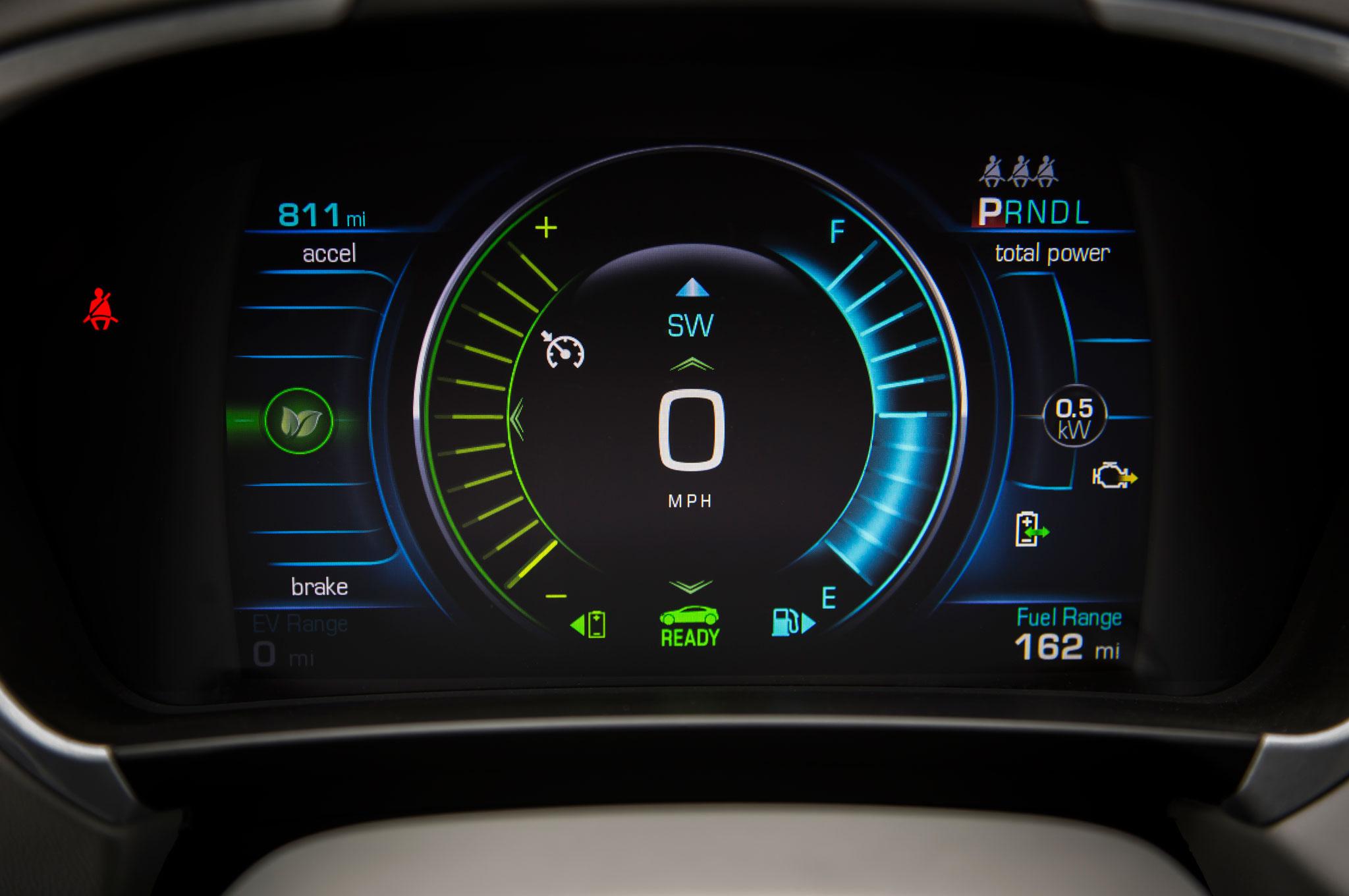 Auto Electric Instrument : Charging ahead chevrolet volt review