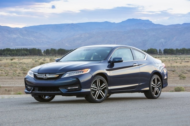 2016 Honda Accord Coupe Touring Front Three Quarter 04 660x440