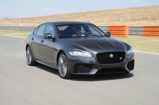 2016 Jaguar XF 3 0 AWD Sport Front Three Quarter In Motion At Track 02 660x438