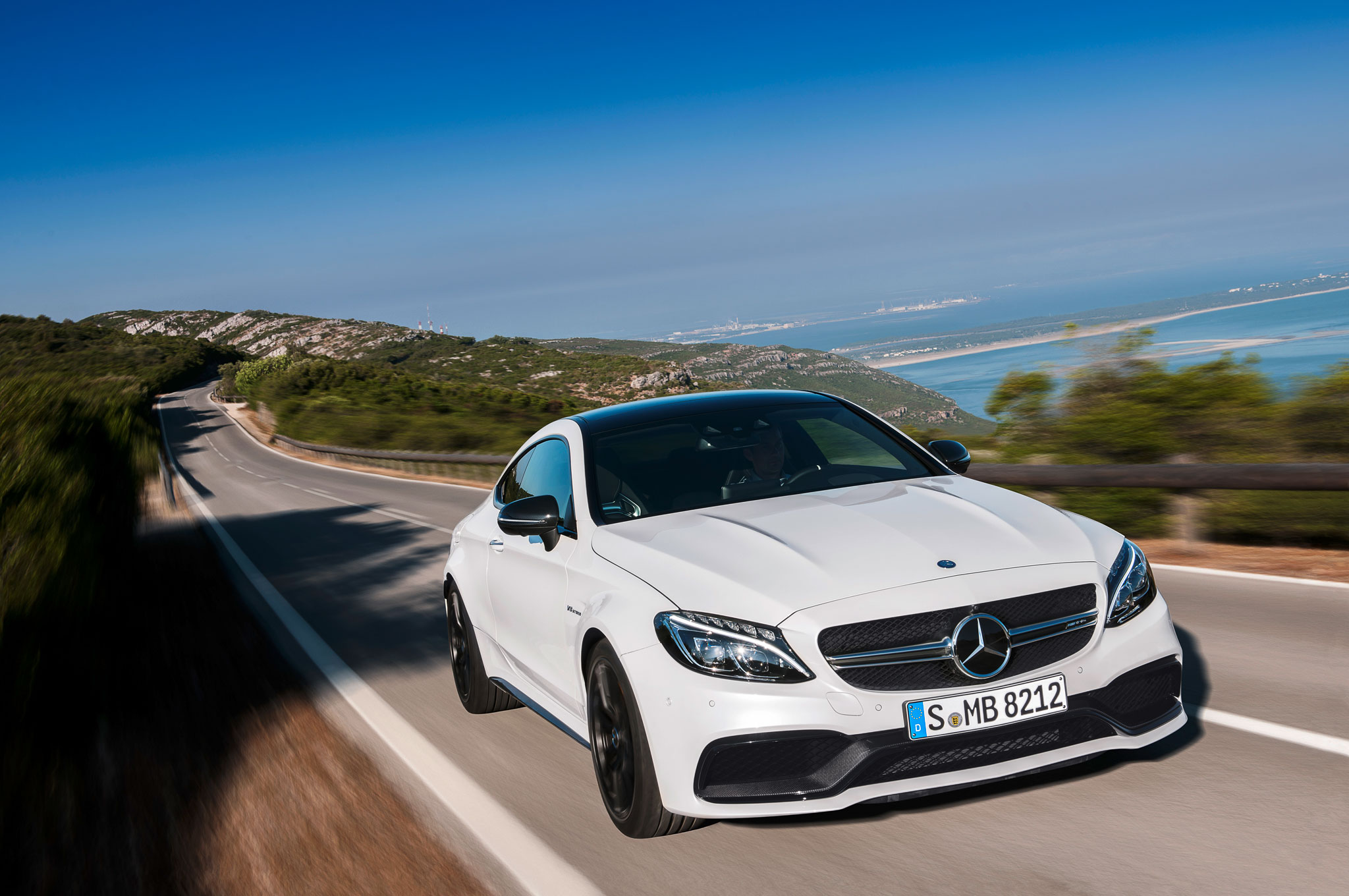 2017 MercedesAMG C63 Coupe Brings TwinTurbo Punch with Up to 503 HP