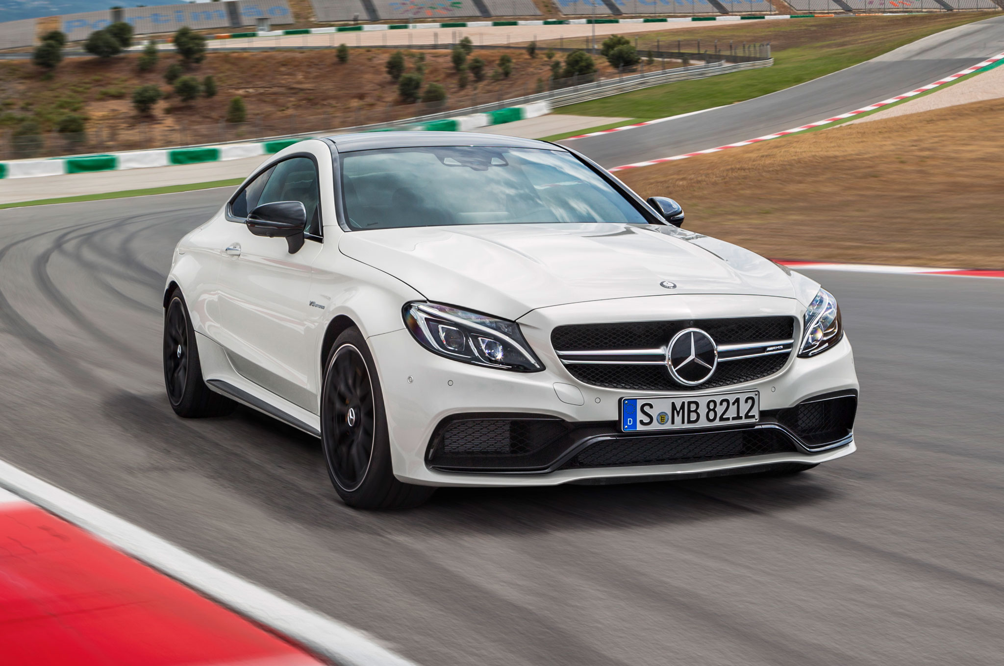 2017 mercedes amg c63 coupe brings twin turbo punch with. Black Bedroom Furniture Sets. Home Design Ideas
