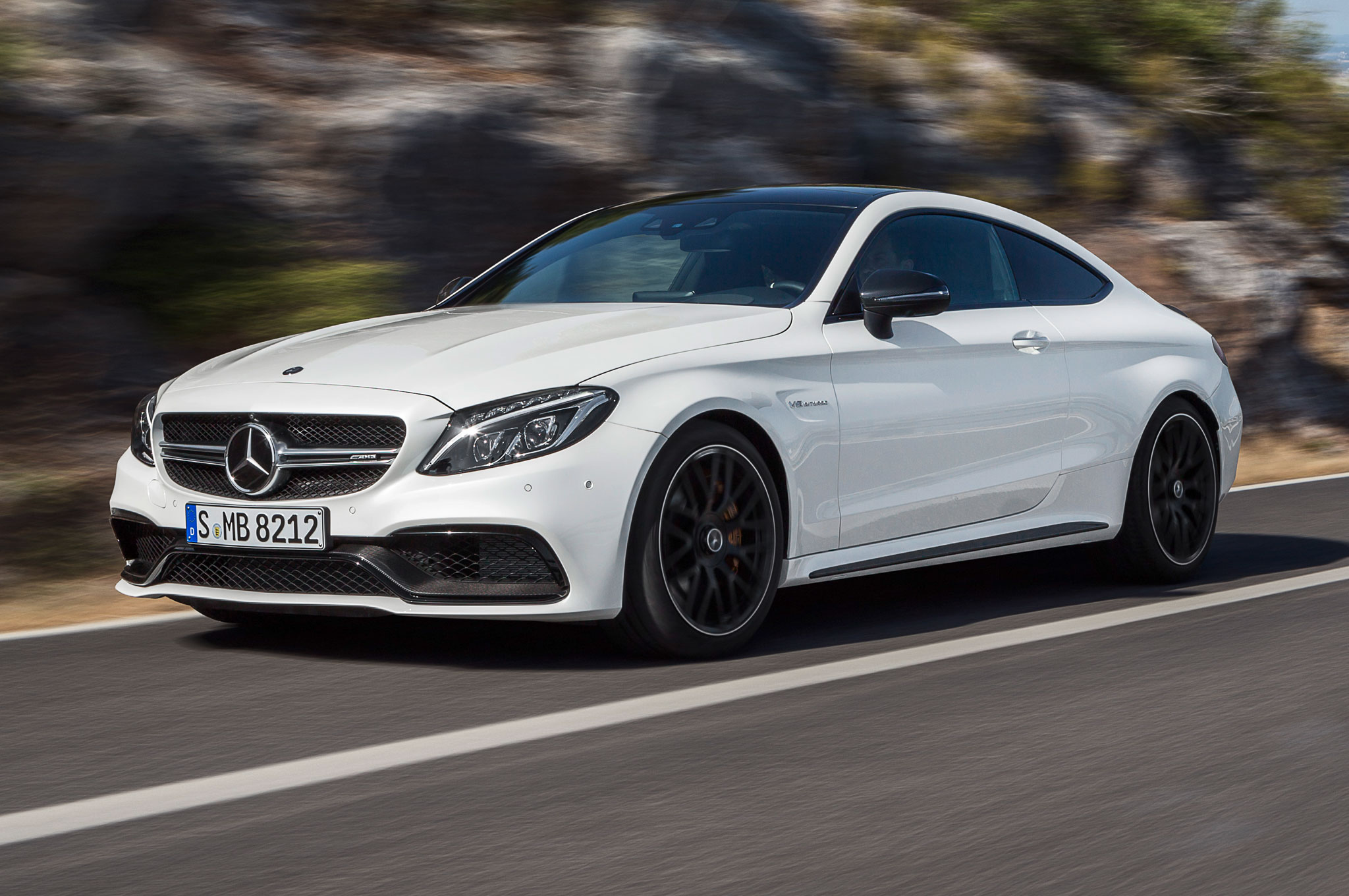 2017 Mercedes Amg C63 Coupe Brings Twin Turbo Punch With