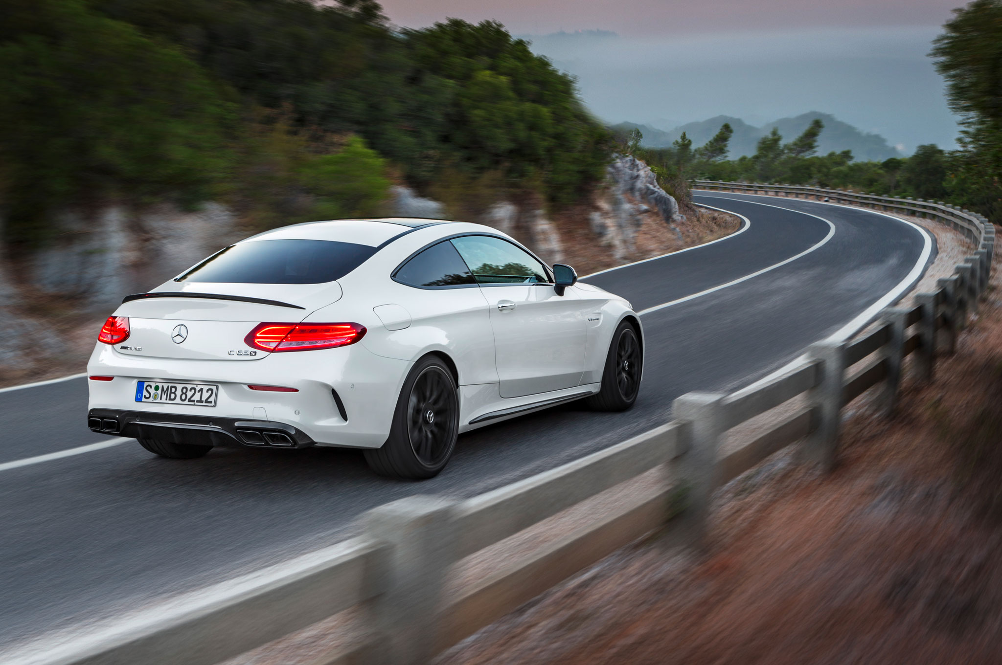 2017 mercedes amg c63 coupe brings twin turbo punch with up to 503 hp. Black Bedroom Furniture Sets. Home Design Ideas