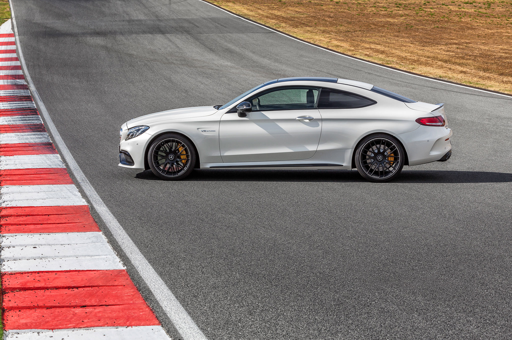 2017 Mercedes AMG C63 Coupe Brings Twin Turbo Punch with Up to 503 HP
