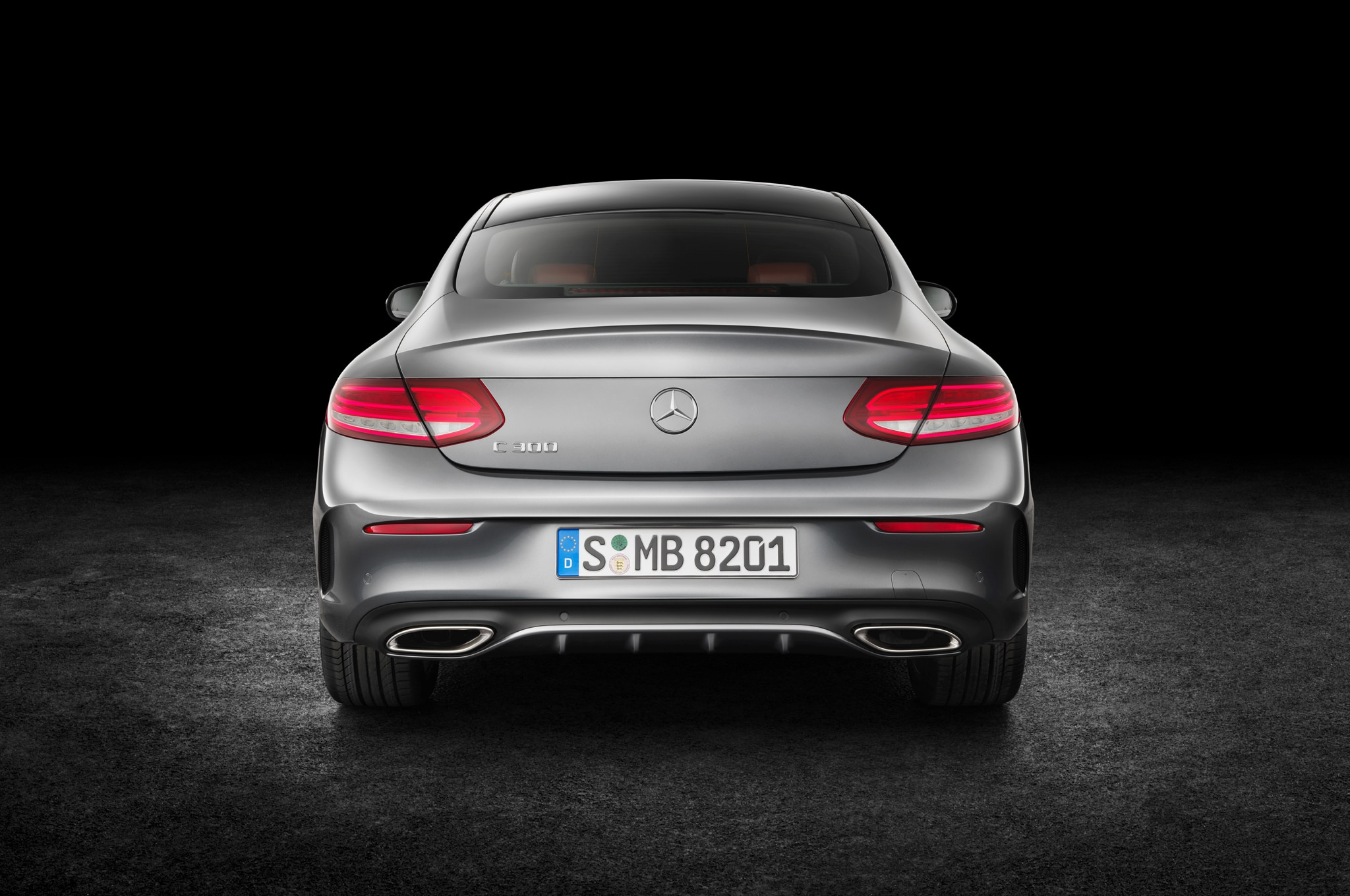 2017 MercedesBenz C300 Coupe Debuts with Fabulous TwoDoor Design