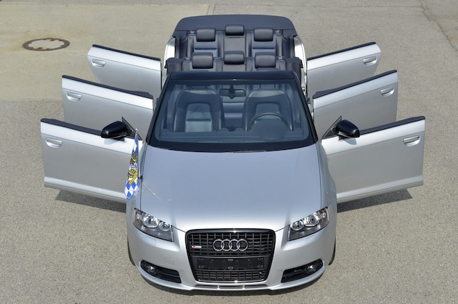 Take All Your Friends on Vacation in the 8-Seat Audi A3 Convertible