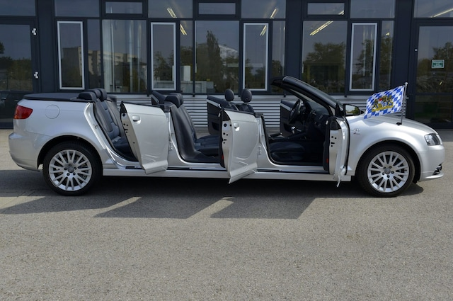 Take All Your Friends On Vacation In The Seat Audi A Convertible - Audi car 8 seater