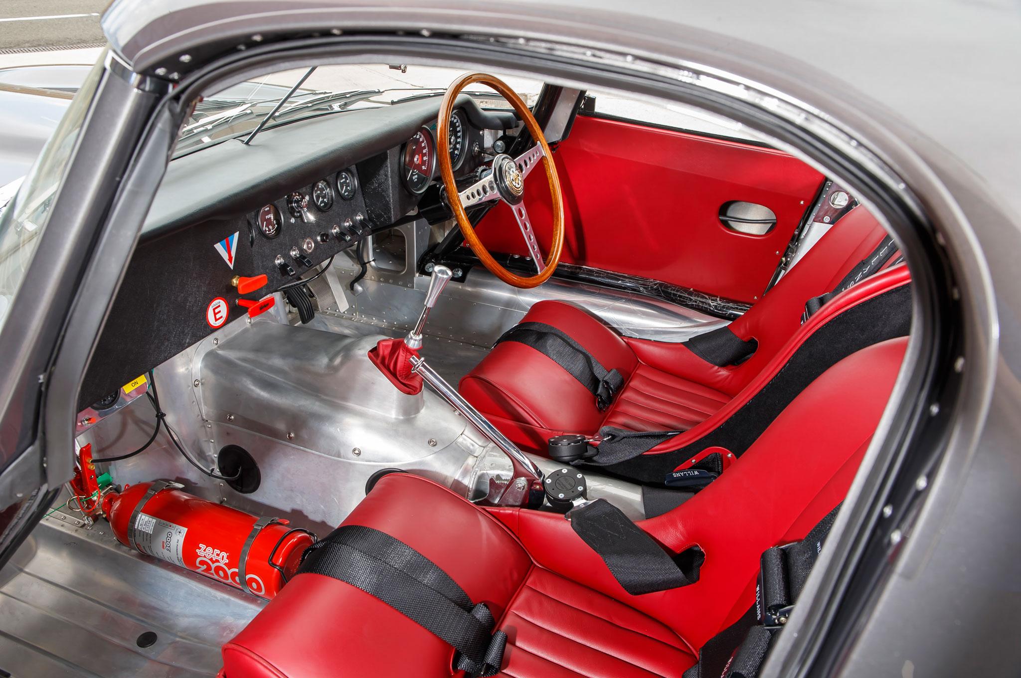 Lightness Dawns Again for the Jaguar E-type