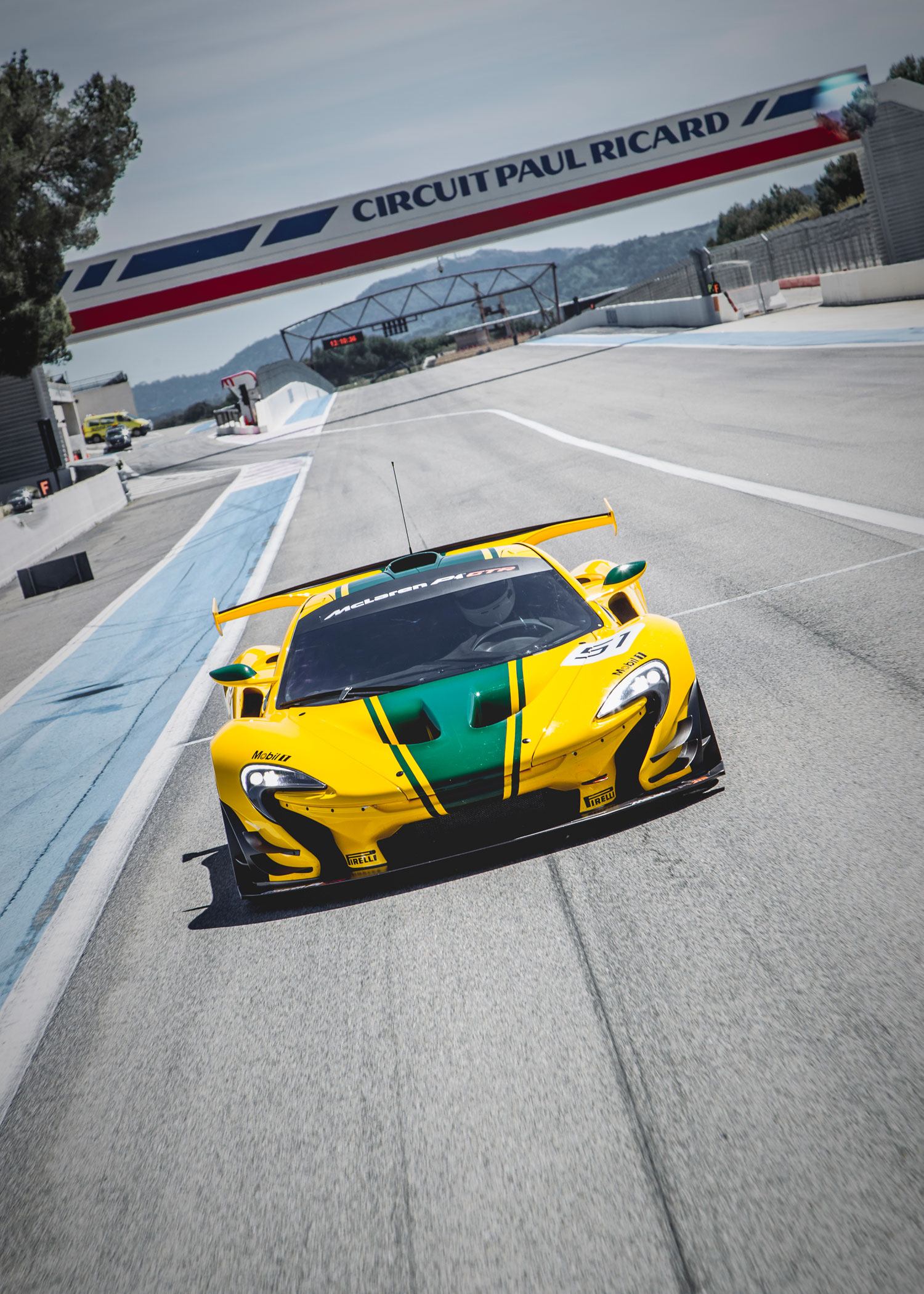 Blistering First Drive in the McLaren P1 GTR