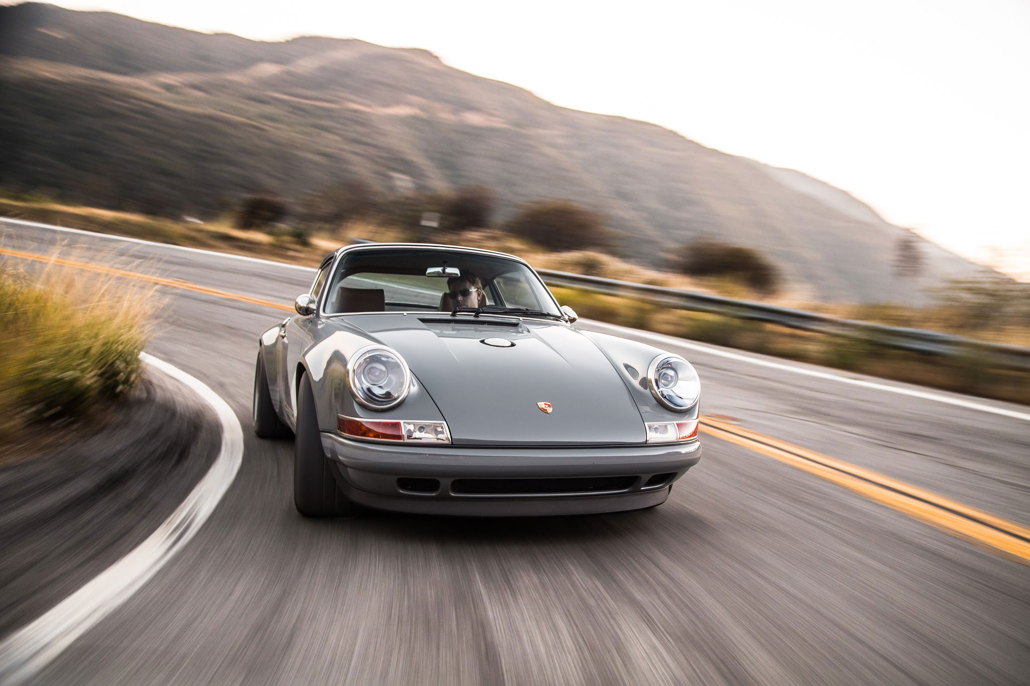 driving the 1990 porsche 911 reimagined by singer vehicle design