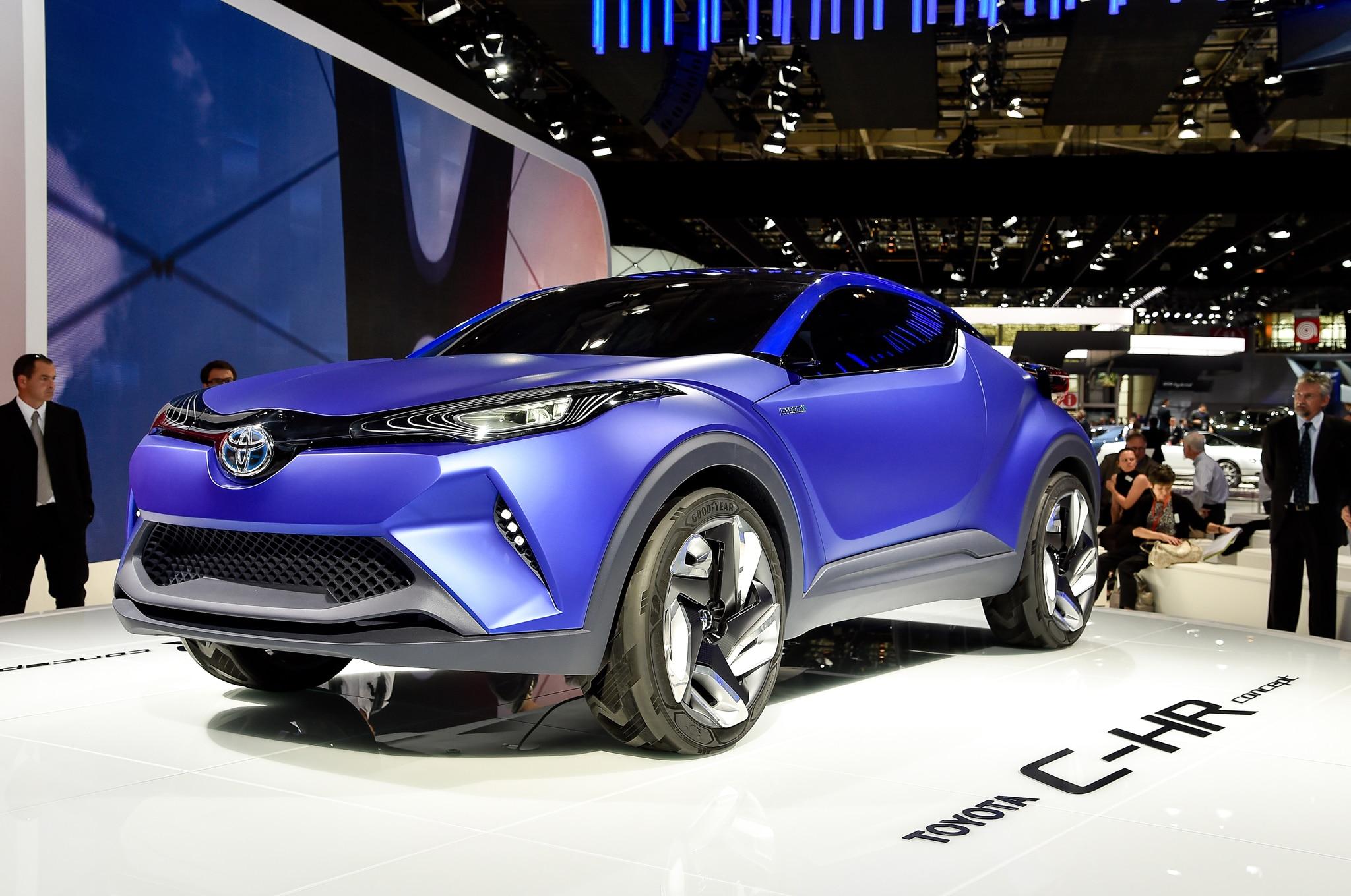 Toyota C HR Concept Front Three Quarters 03