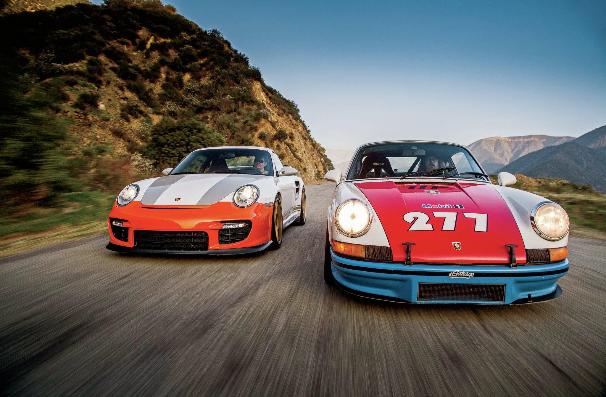 sharkwerks-2008-porsche-911-gt2-magnus-walker-1971-911-t-2771 Stunning 2008 Porsche 911 Gt2 Horsepower Cars Trend