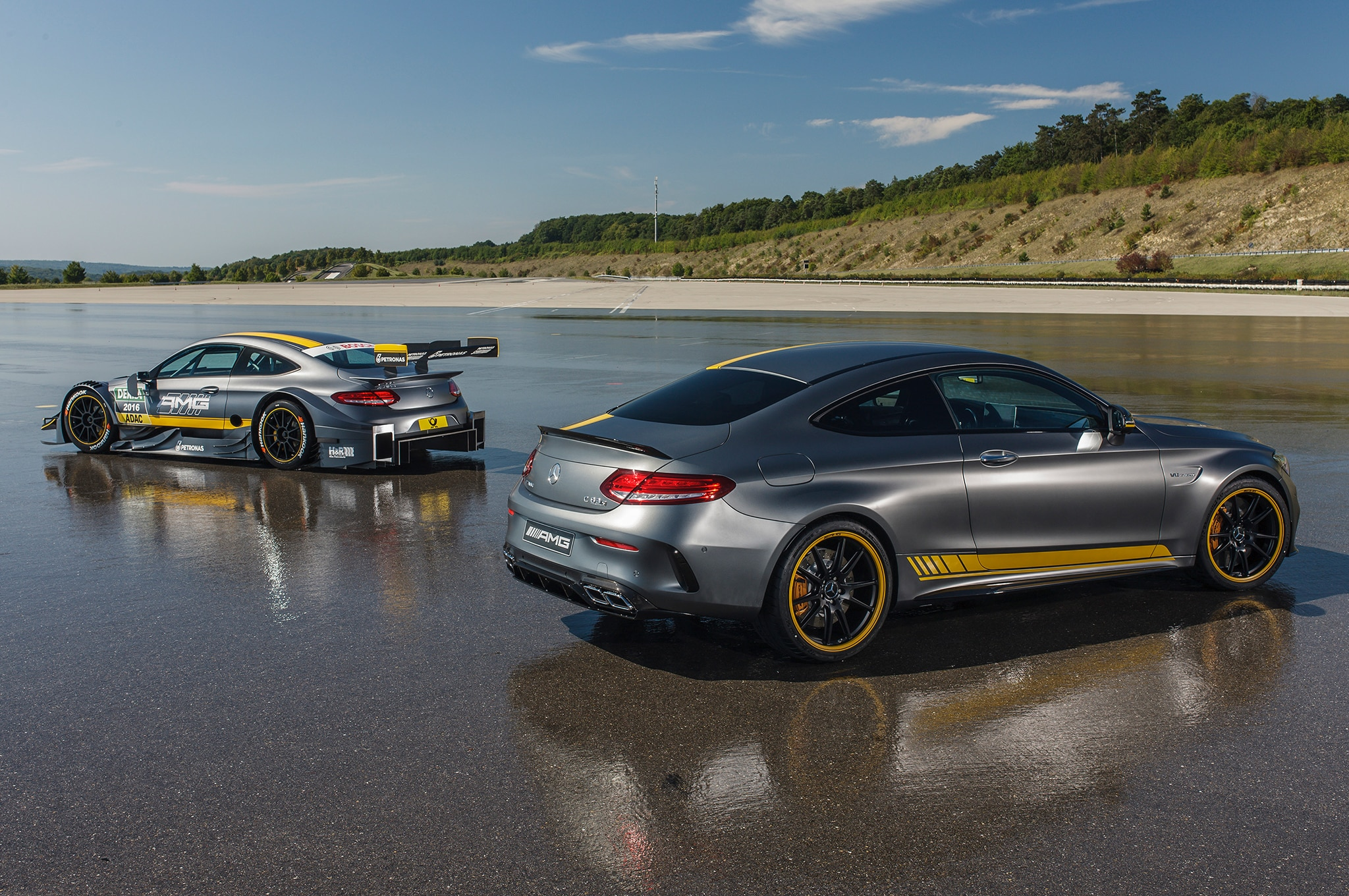 Mercedes Amg Coupe Edition Dtm Racing Car Revealed