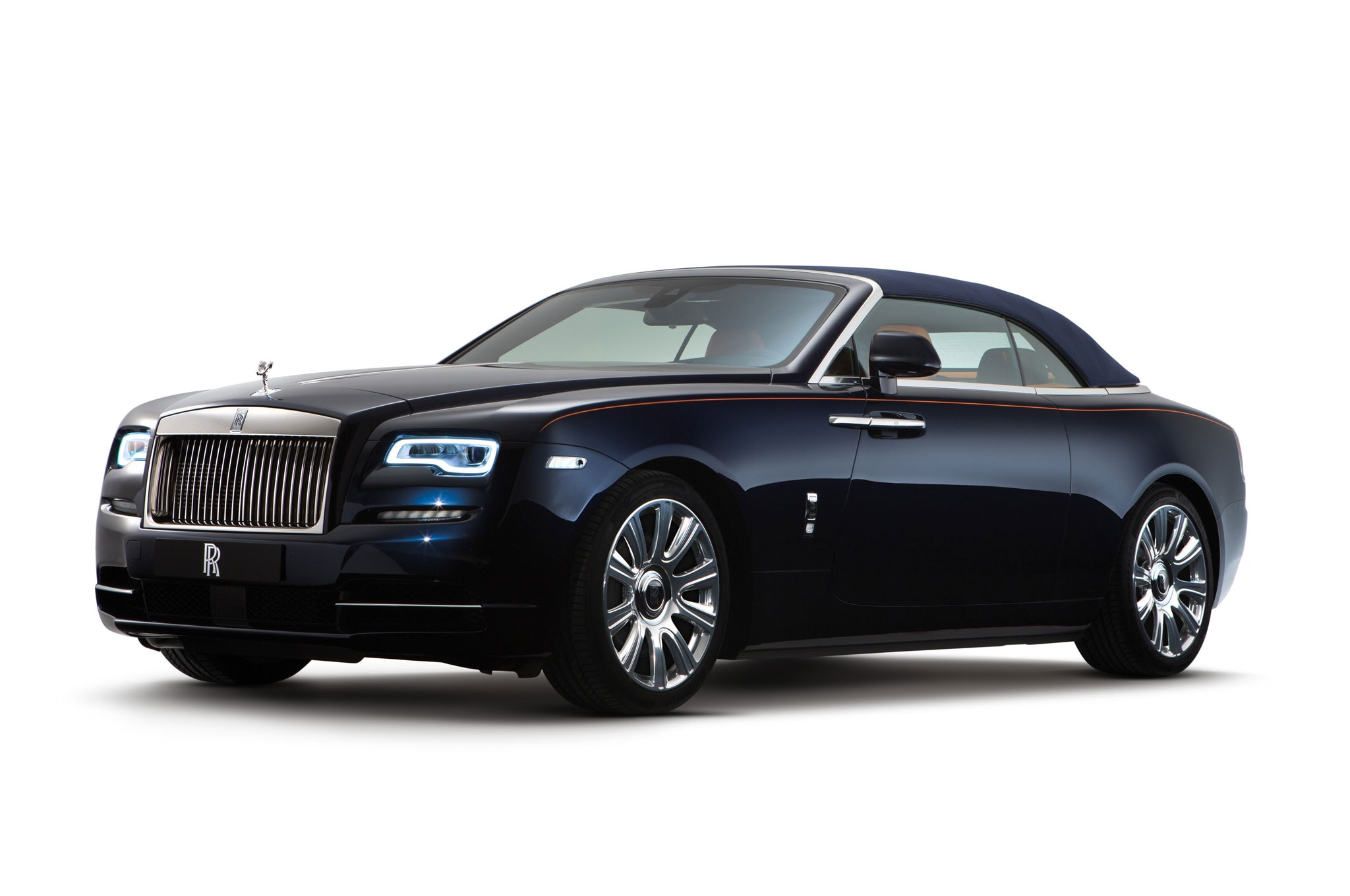 Rolls Royce Dawn Brings Open Top Ultra Luxury To Frankfurt