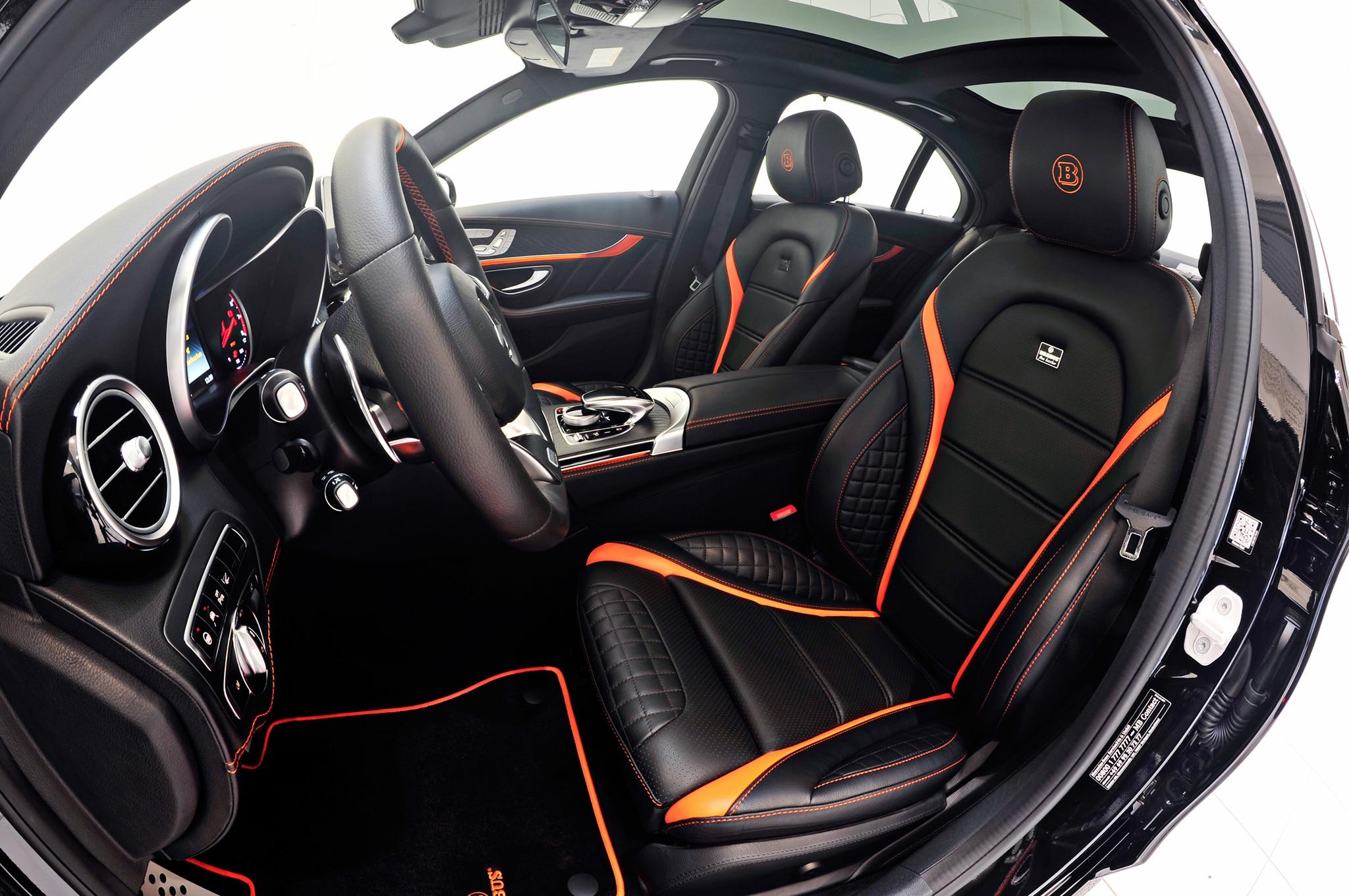 Brabus Cranks the MercedesAMG C63 S Up to 591 HP