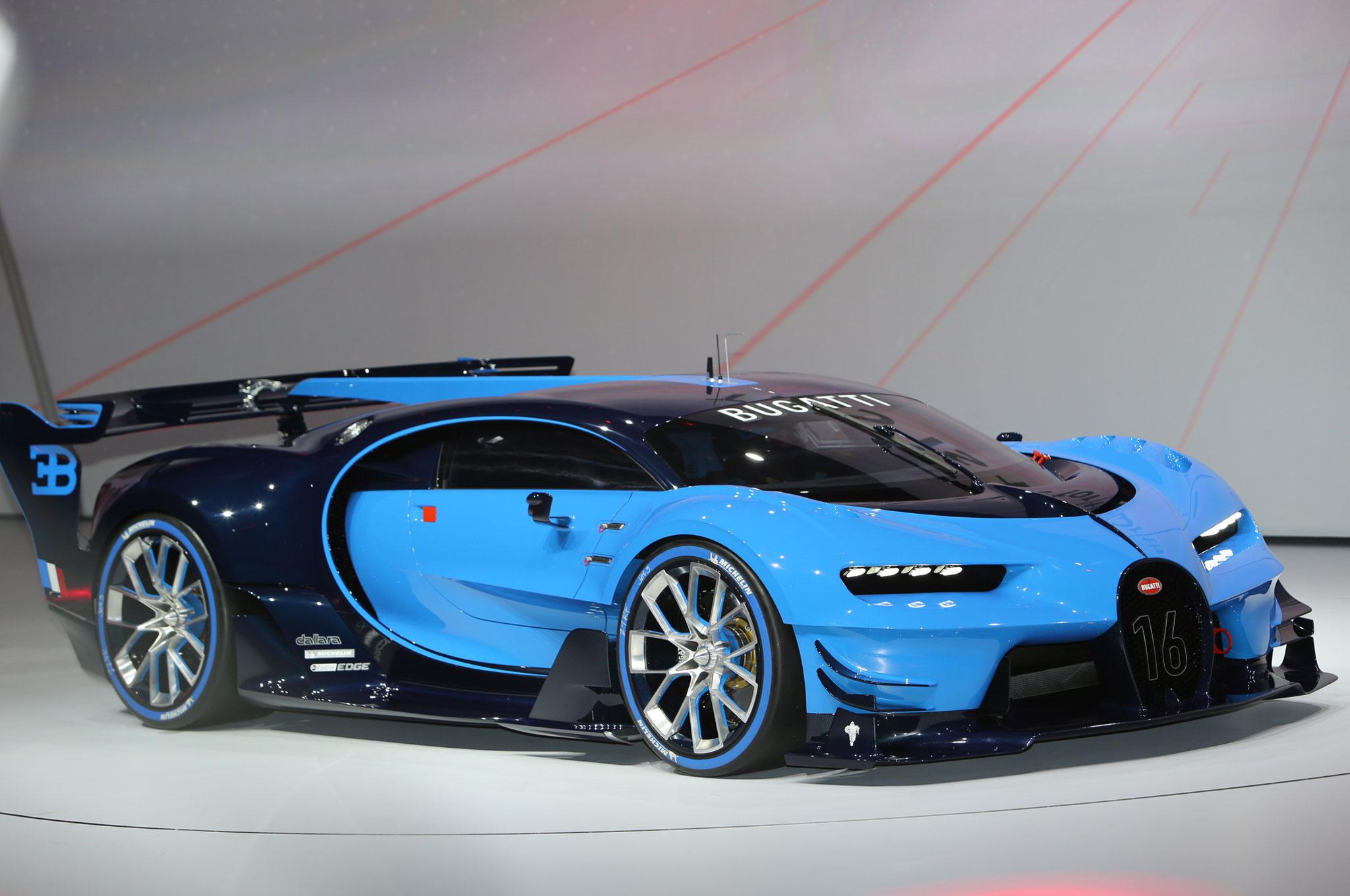 Bugatti-Vision-Gran-Turismo-Concept-front-three-quarter-011 Terrific Bugatti Veyron 2017 for Sale Cars Trend