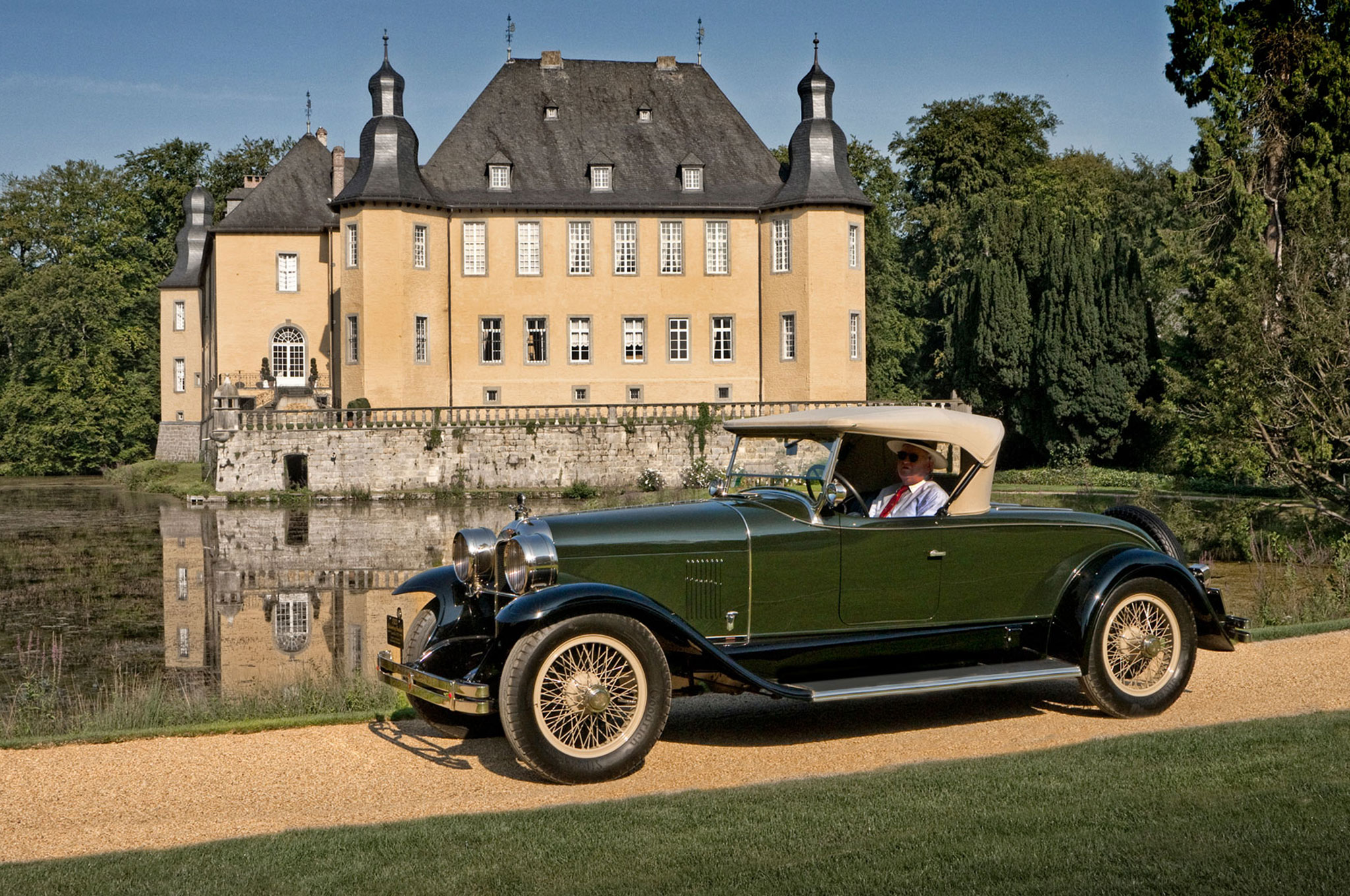 the incredible cars of germany 39 s classic days schloss dyck. Black Bedroom Furniture Sets. Home Design Ideas