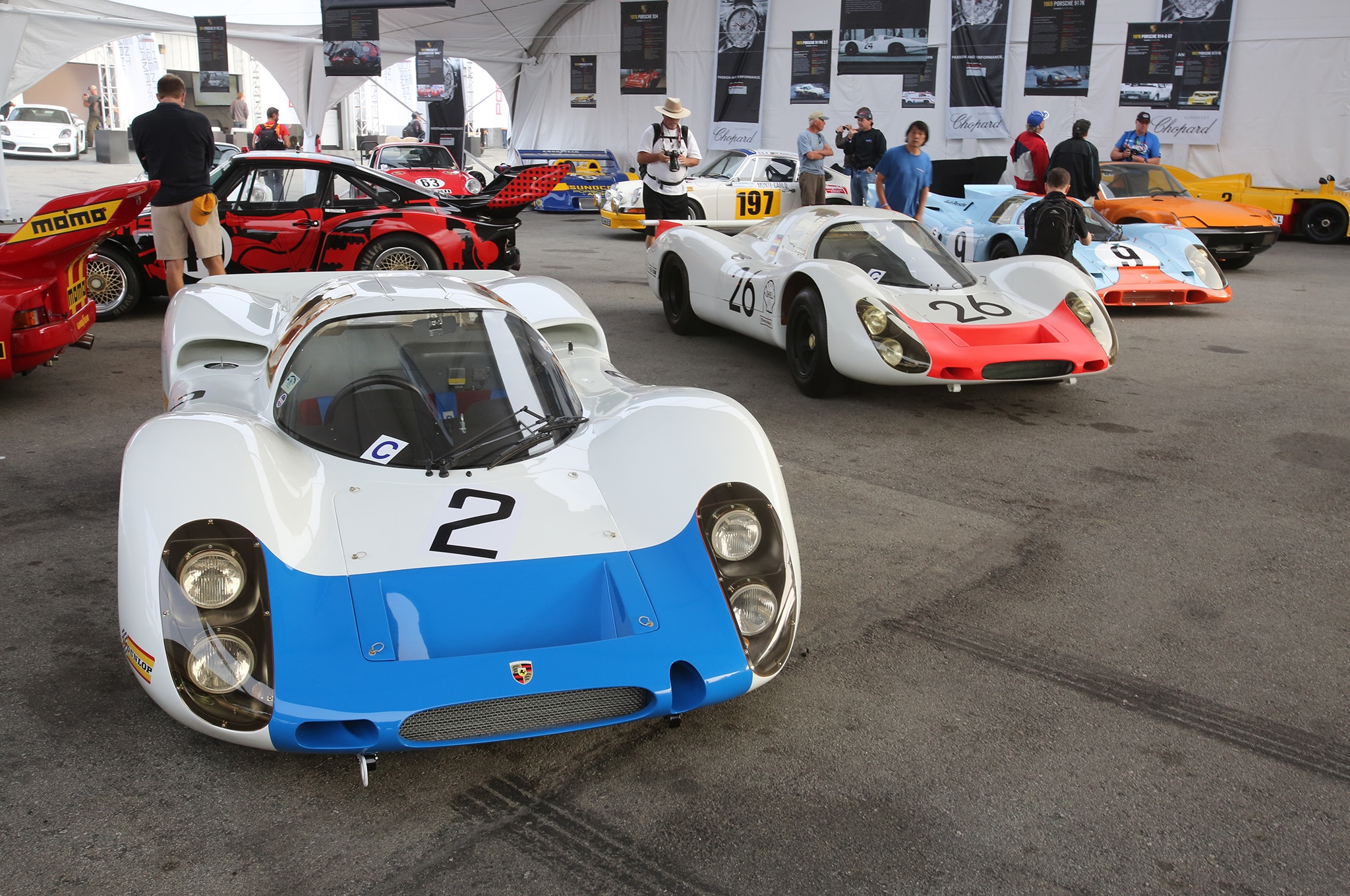 The Coolest Porsche Racing Cars At The Rennsport Reunion