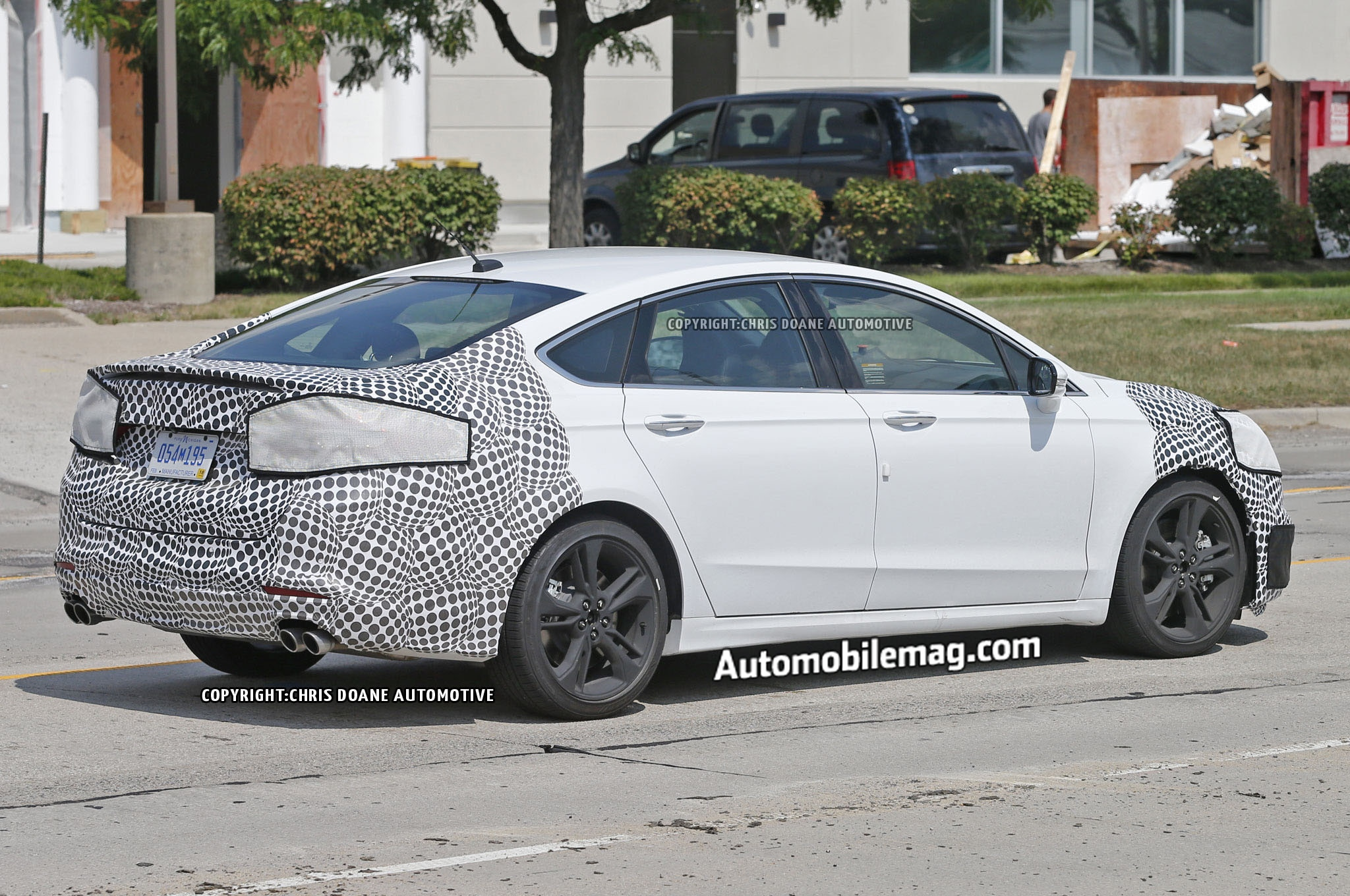 Ford Fusion St Prototype Spied With Quad Exhausts