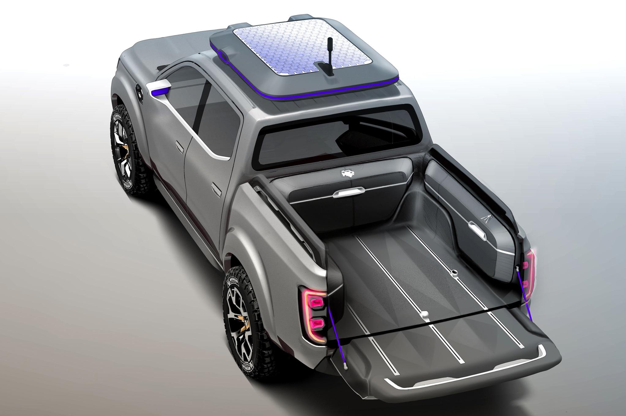 renault alaskan pickup truck concept heads to frankfurt. Black Bedroom Furniture Sets. Home Design Ideas