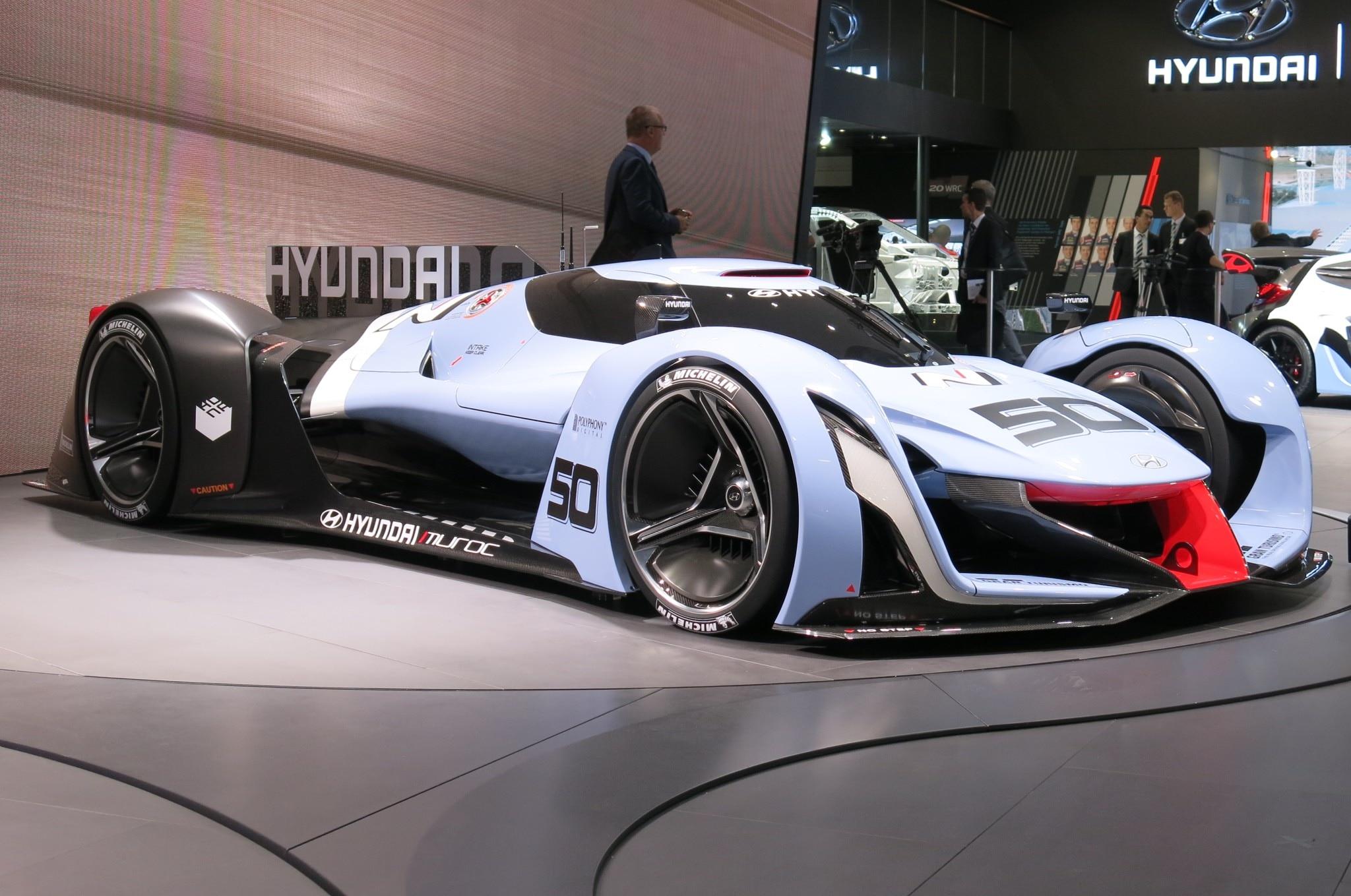 Hyundai N 2025 Vision Gran Turismo Live Front Three Quarter