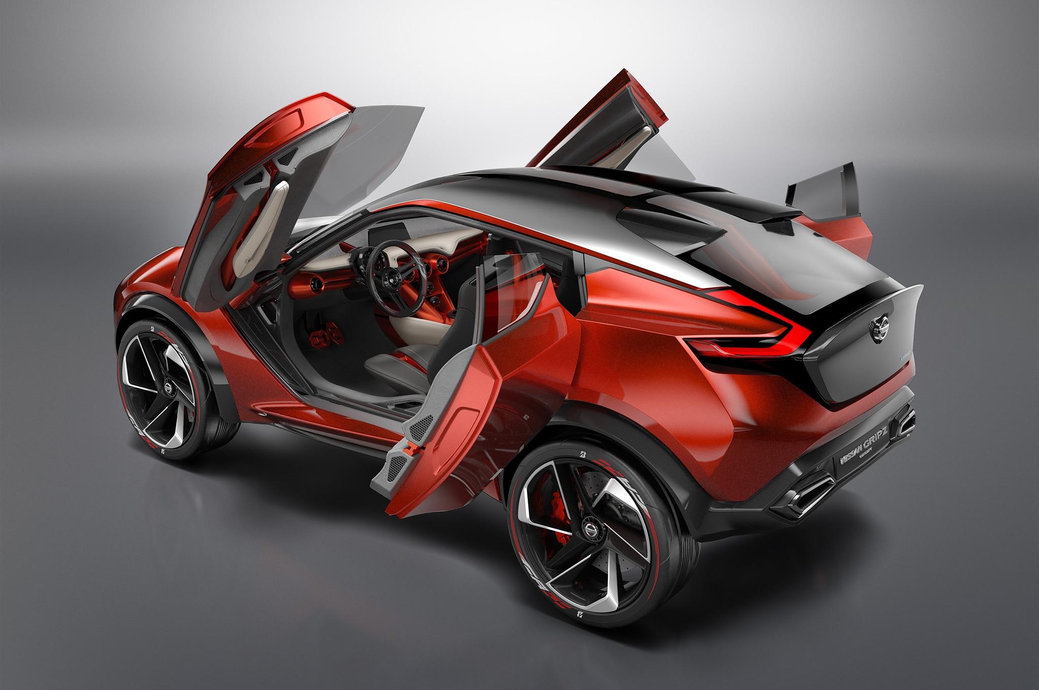 Nissan Gripz Concept is an AllWheelDrive Hybrid with Drift Mode