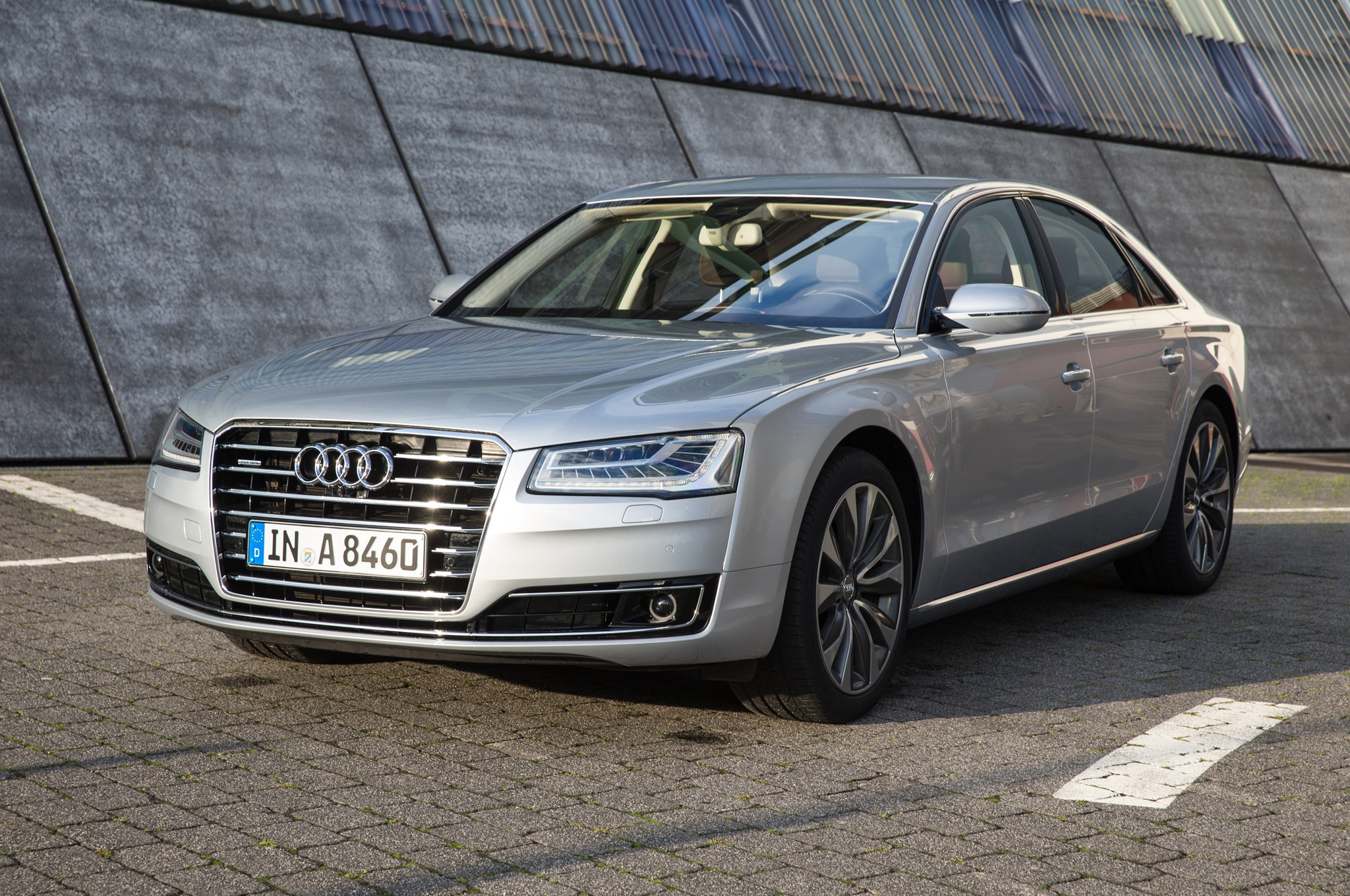2016 audi a8 l gains 4 0t sport model with extra power visual tweaks