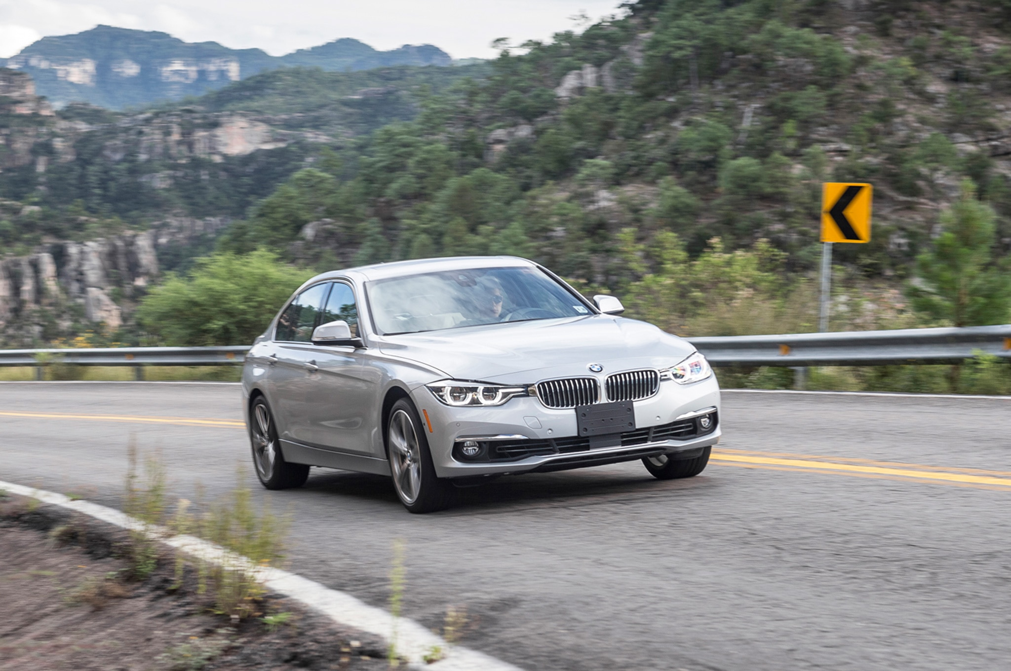 2016 BMW 340i XDrive Front Three Quarters In Motion Lead