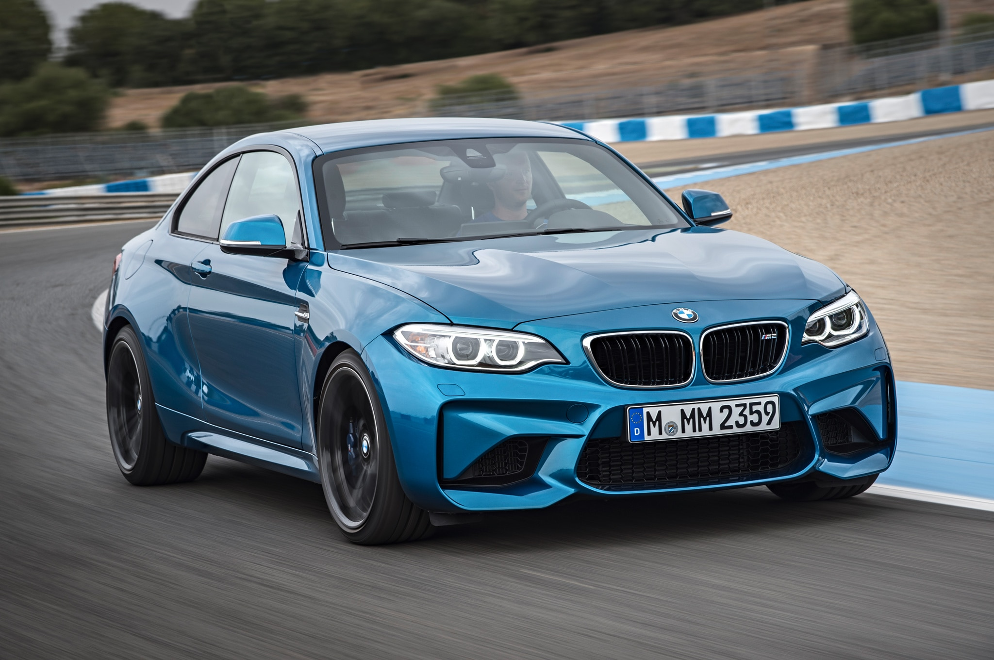 2016 BMW M2 Coupe Front Three Quarter In Motion 013