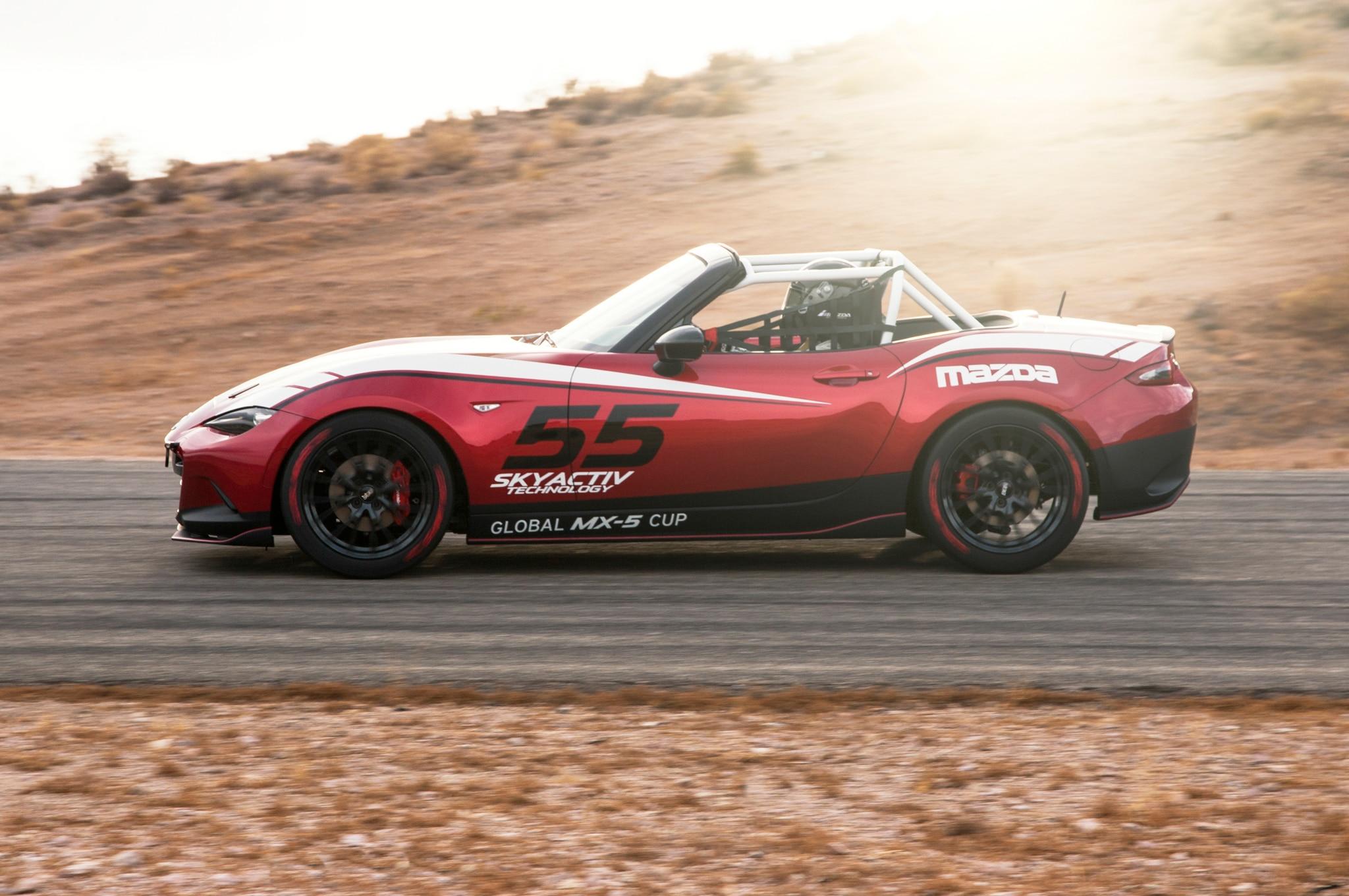 2016 Mazda MX-5 Cup Racing Car Costs $53,000