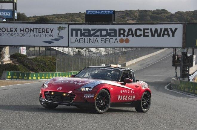 2016 Mazda MX 5 Miata Cup car Laguna Seca