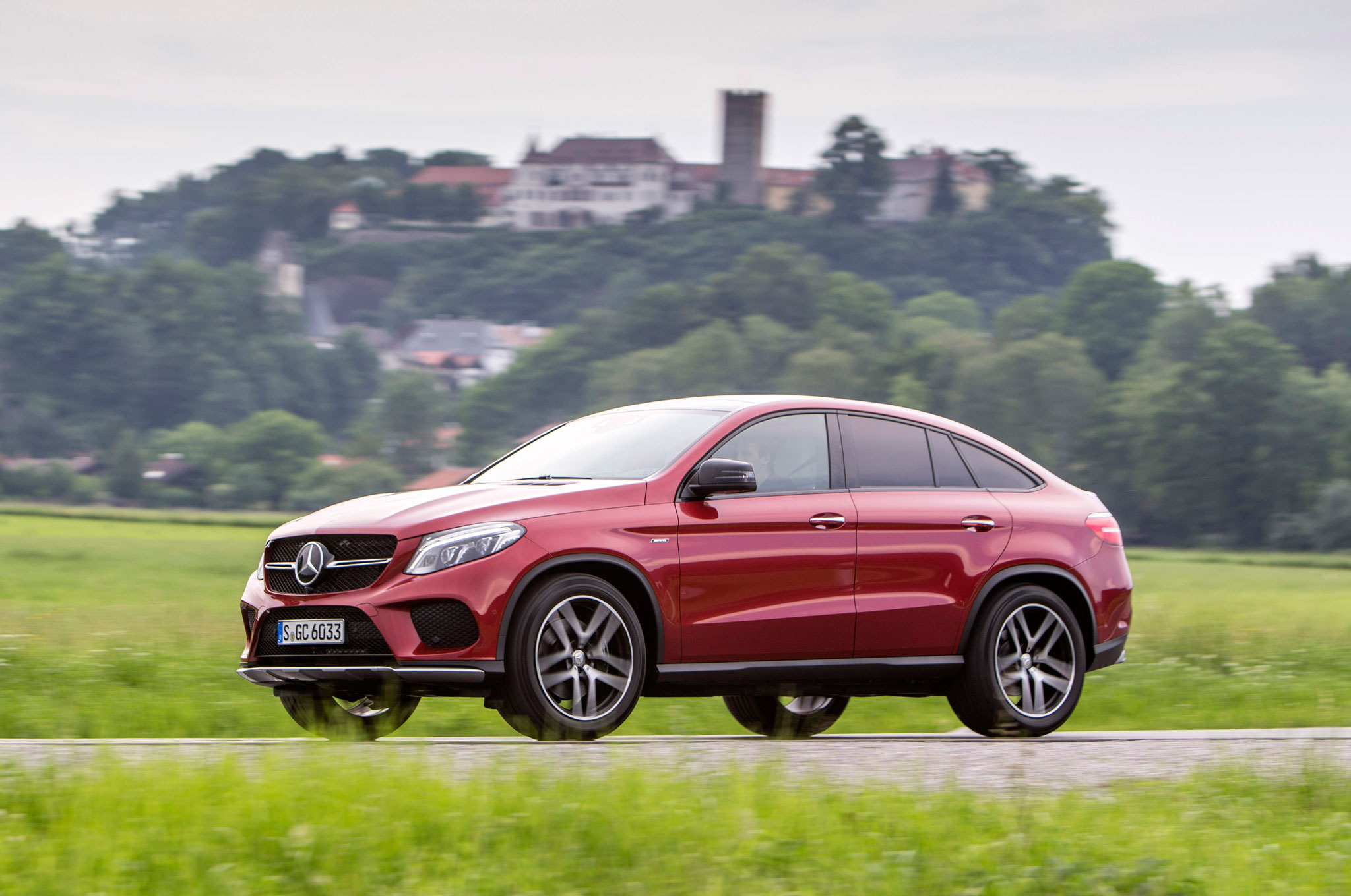 2016 mercedes benz gle450 amg 4matic coupe review