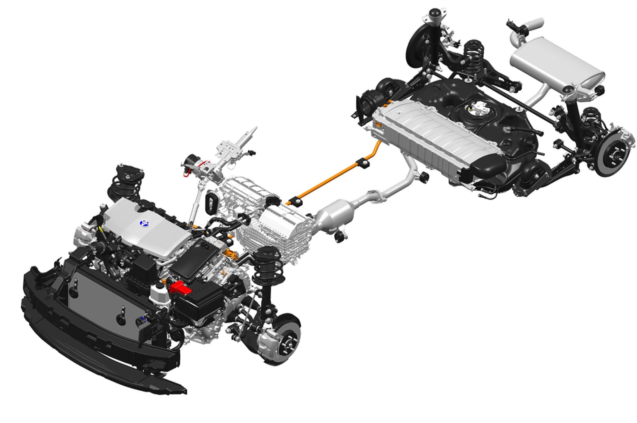 prius rear suspension diagram prius database wiring diagram 2016 toyota prius hv system layout