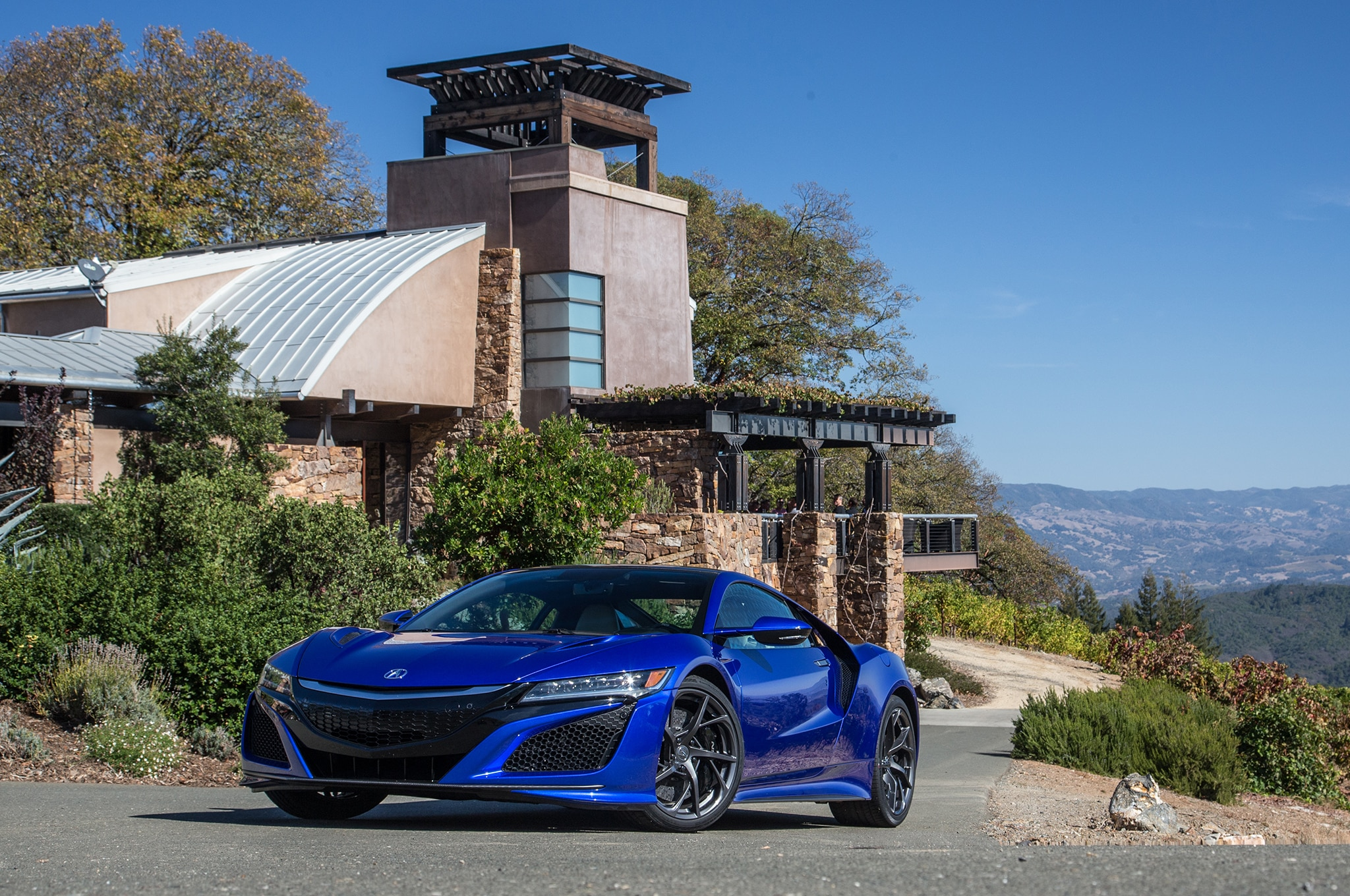 2017 acura nsx first drive roadtest review | automobile magazine