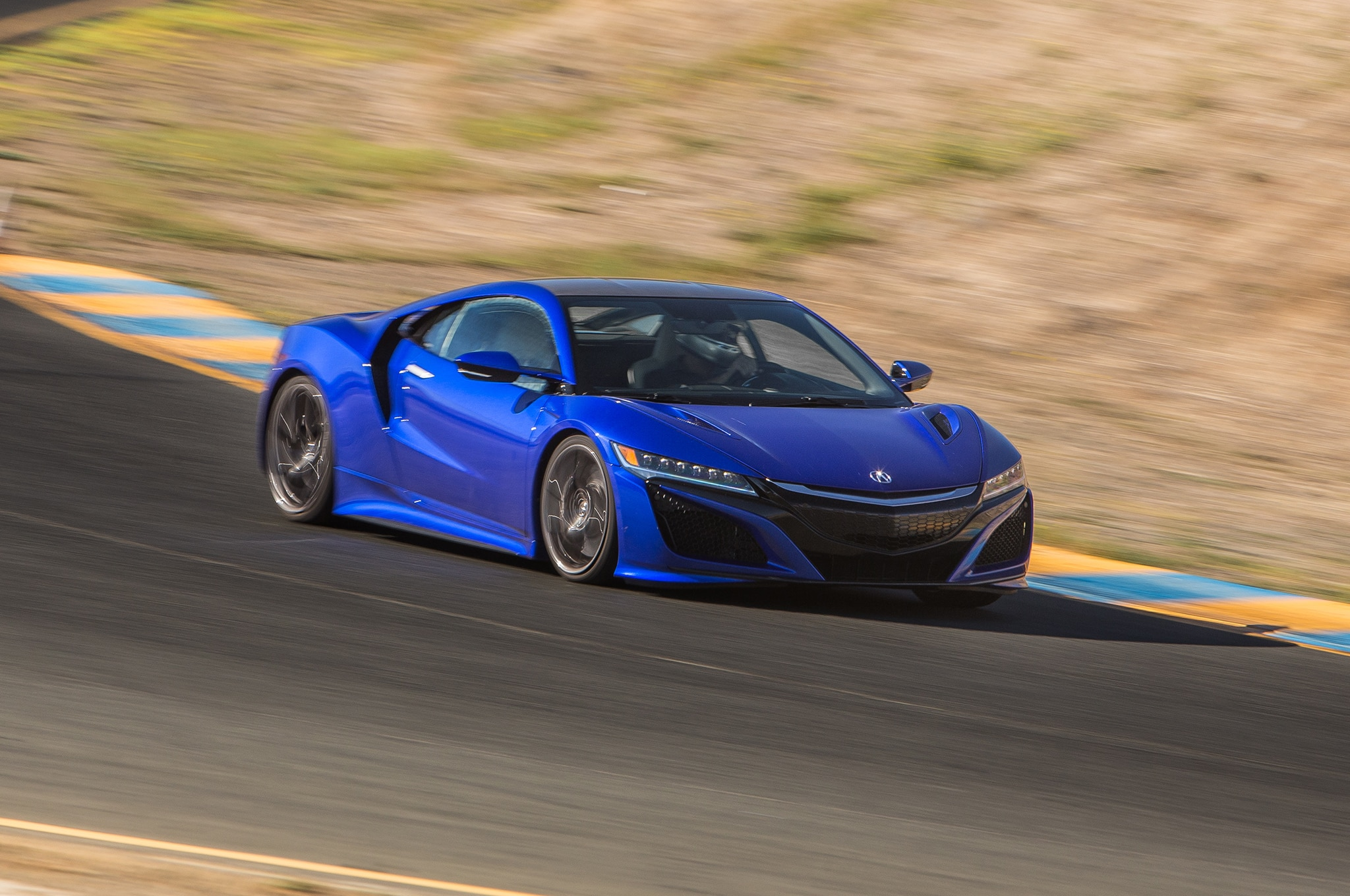 Acura Nsx Front Three Quarter Motion