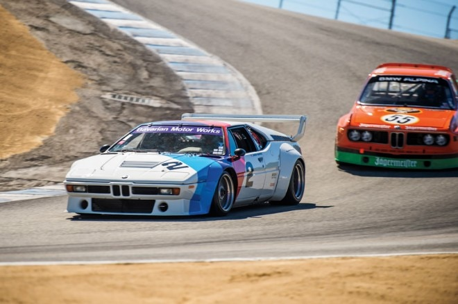 BMW M1 At Laguna Seca 02 660x438